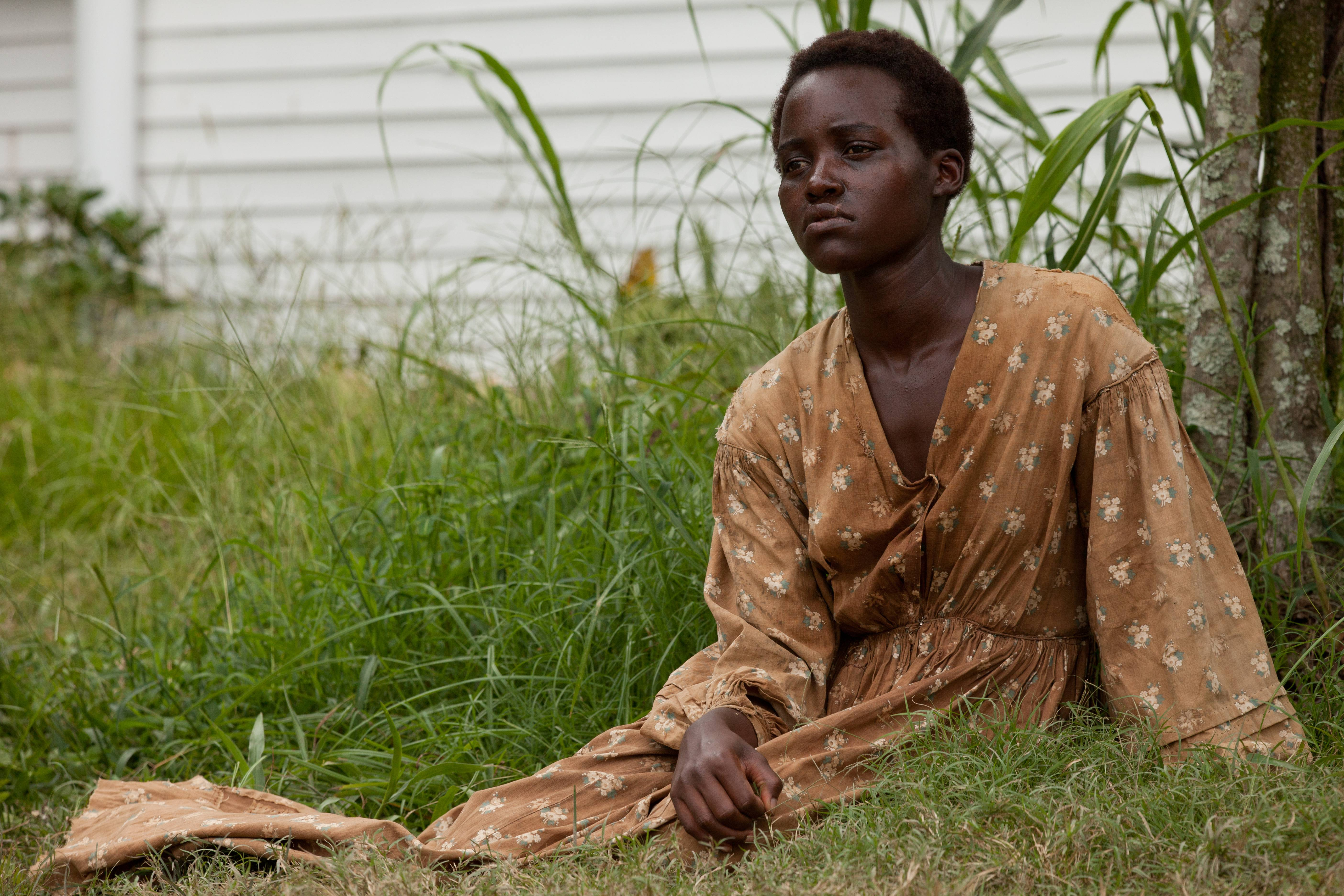 "Lupita Nyong'o is nominated for an Oscar for her performance by an actress in a supporting role in ""12 Years a Slave."""