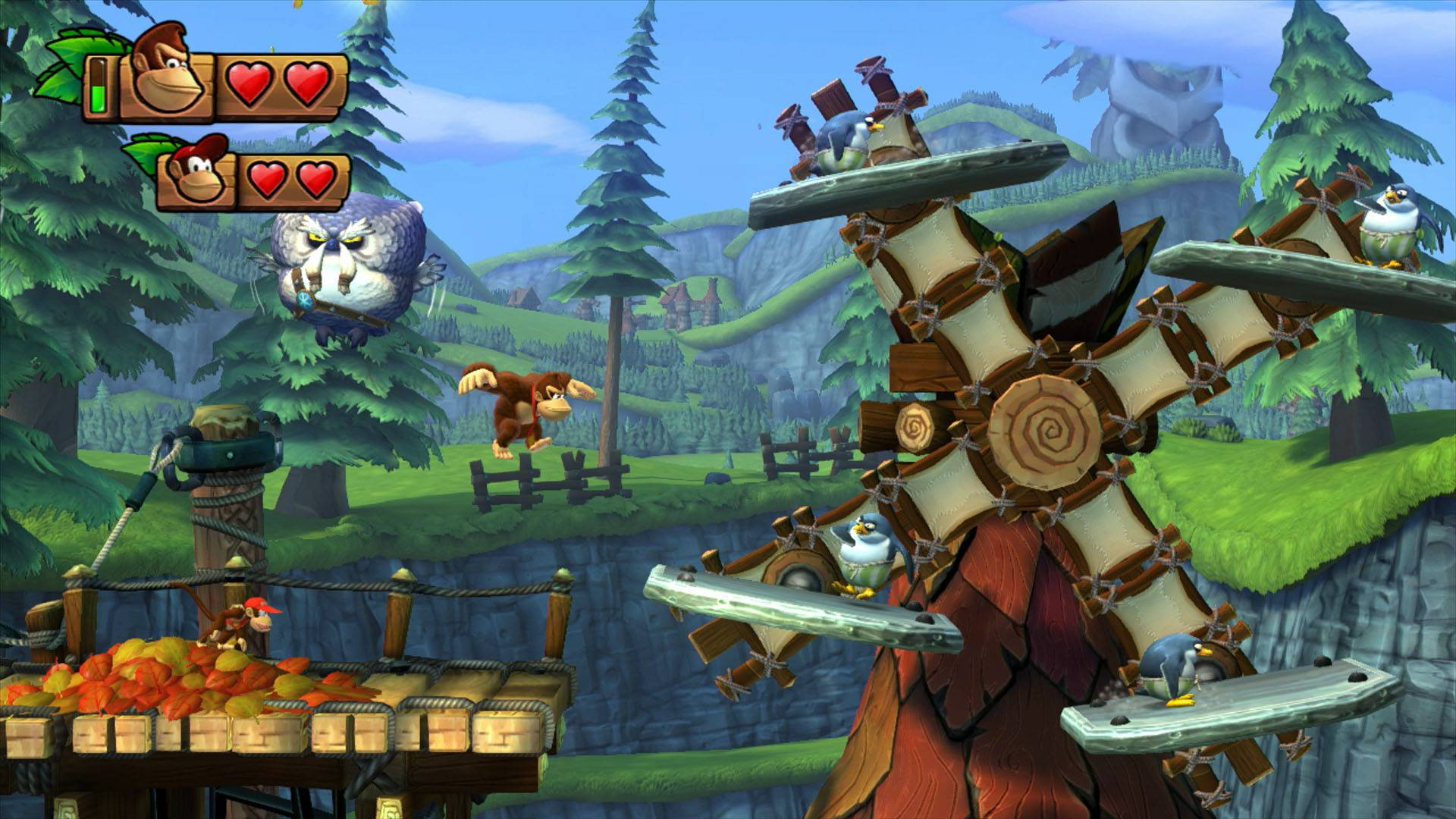 """Donkey Kong Country: Tropical Freeze"" isn't a breeze, it's actually pretty hard, which isn't necessarily a good thing."