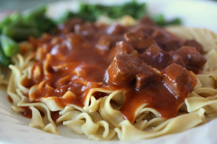 Sharon Kennedy tweaked a Betty Crocker recipe to come up with a version of Hungarian goulash her family loves.