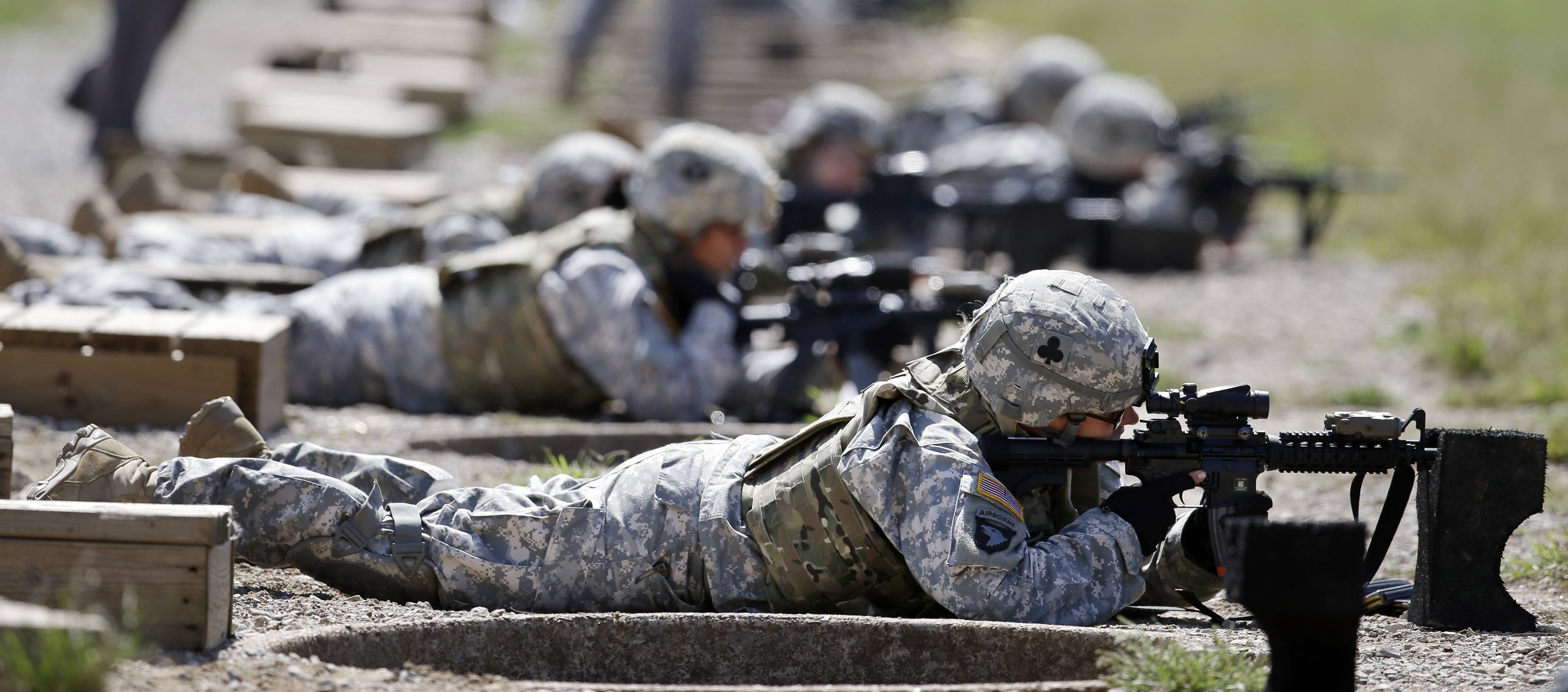 Only a small fraction of Army women say they'd like to move into one of the newly opening combat jobs, but those few who do, say they want a job that takes them right into the heart of battle, according to preliminary results from a survey of the service's nearly 170,000 women.