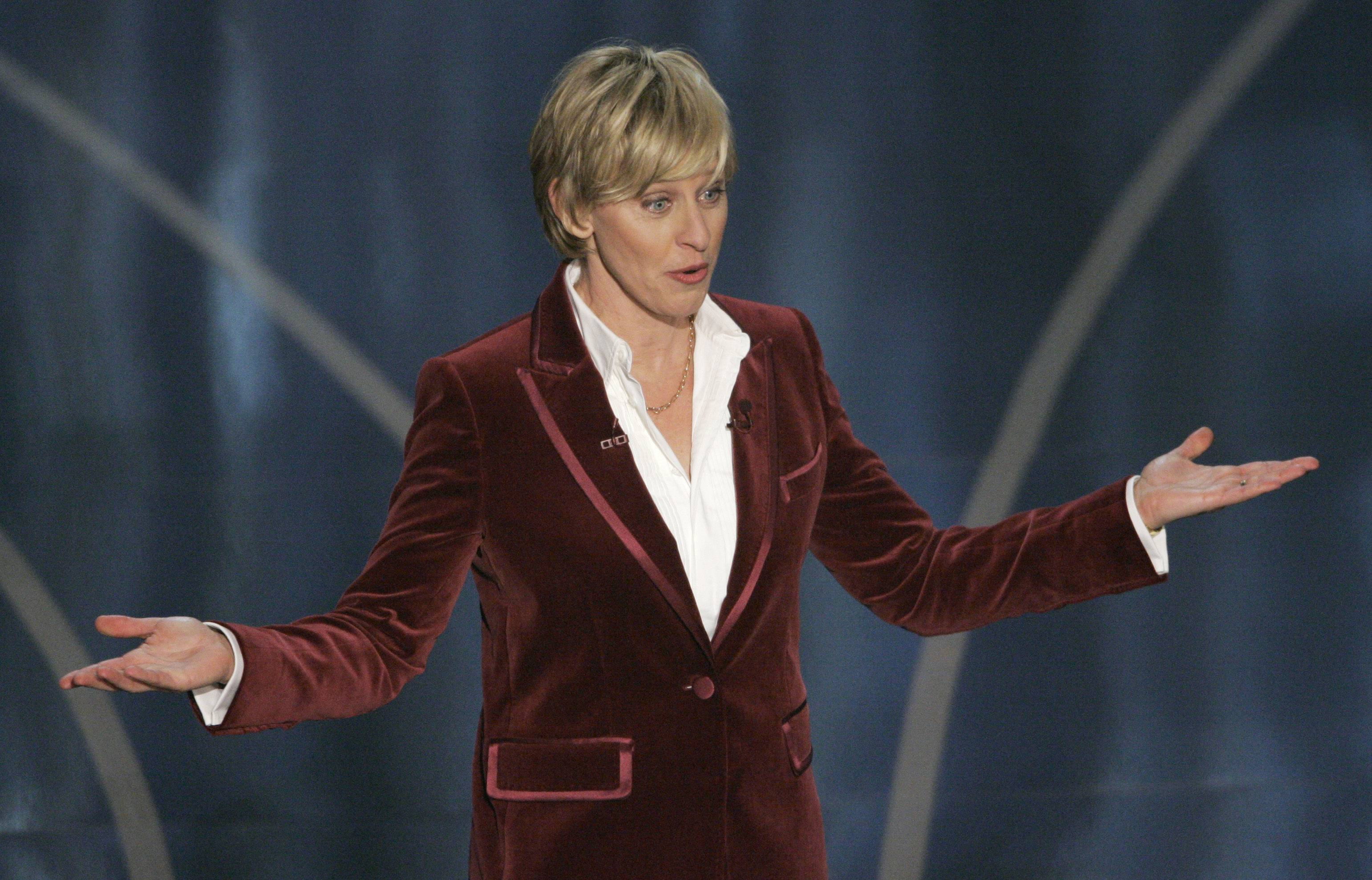 Ellen DeGeneres is returning as host at the 86th Academy Awards on March 2, after making her Oscar debut in 2007. She's had a close hand in the writing process, Neil Meron said.