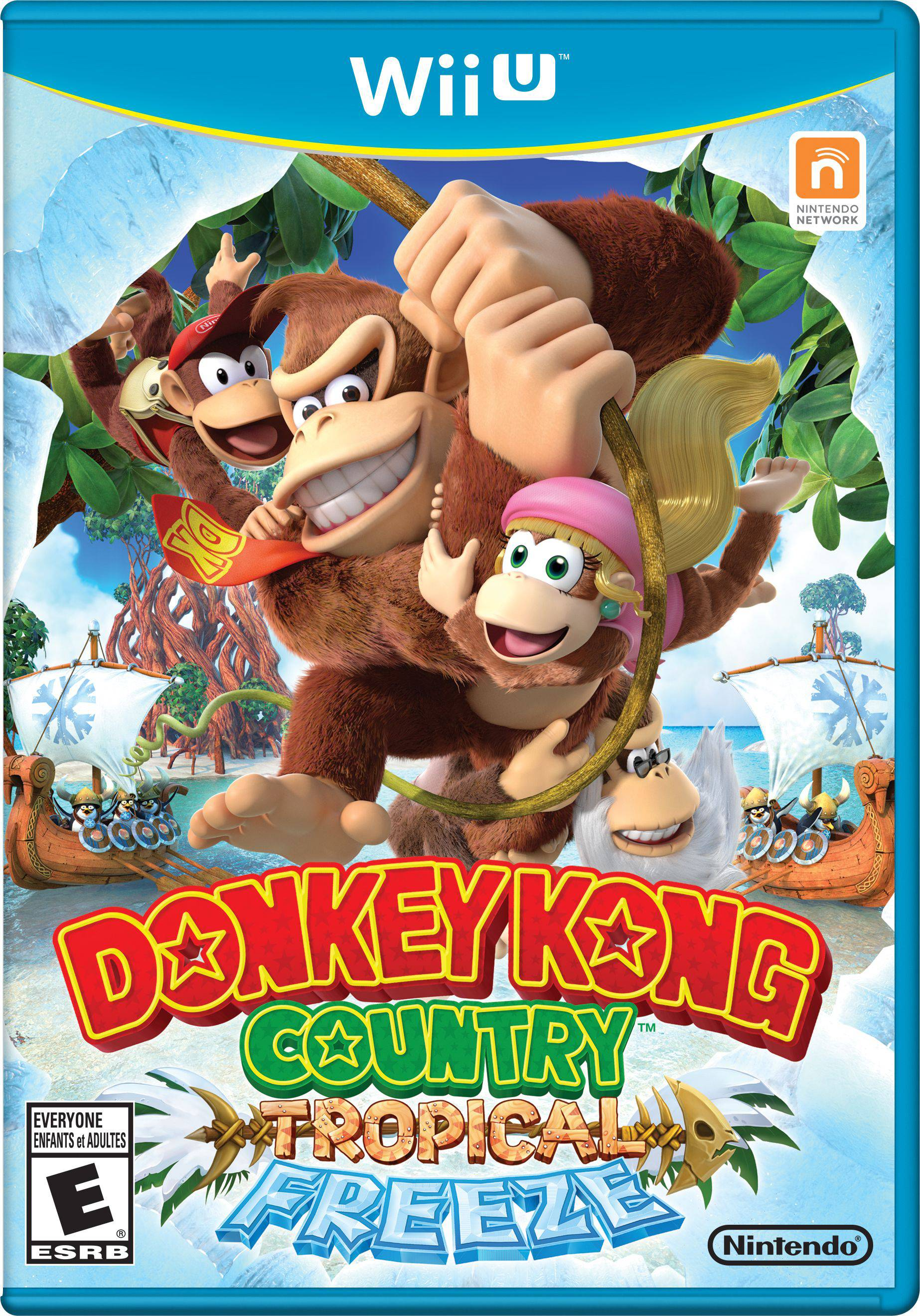 "Donkey Kong and the gang return in ""Donkey Kong Country: Tropical Freeze."""