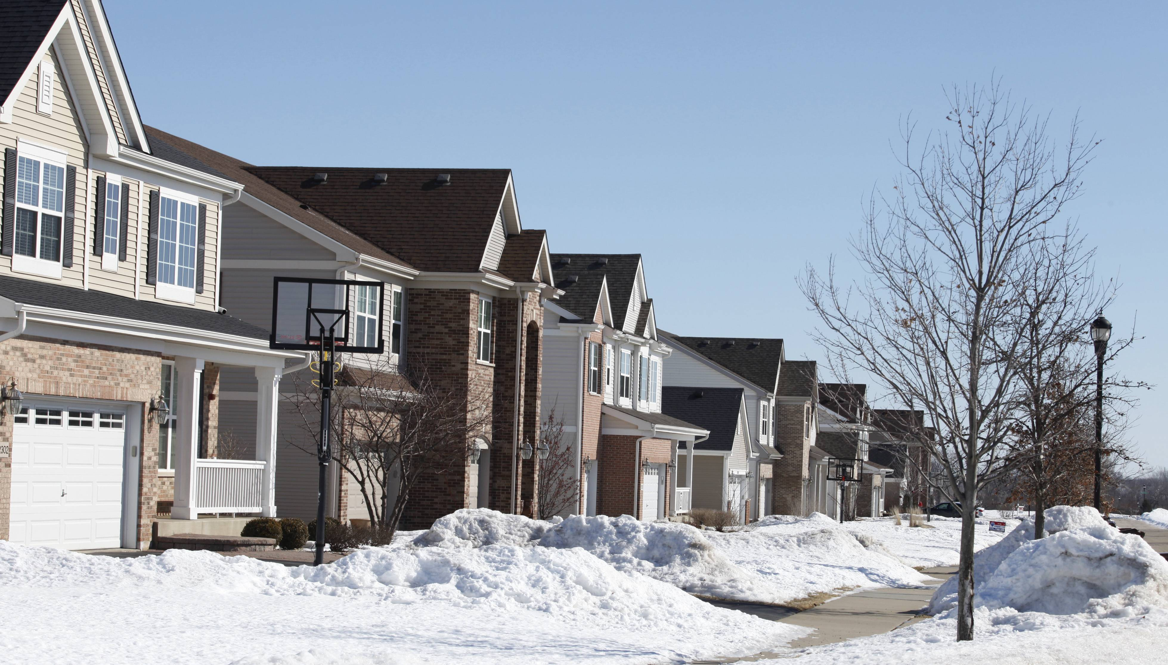 Newer homes along Donahue Drive highlight the building boom that has helped Huntley in recent years. The village ranked No. 1 on NerdWallet.com's list of best places for homeownership in Illinois.