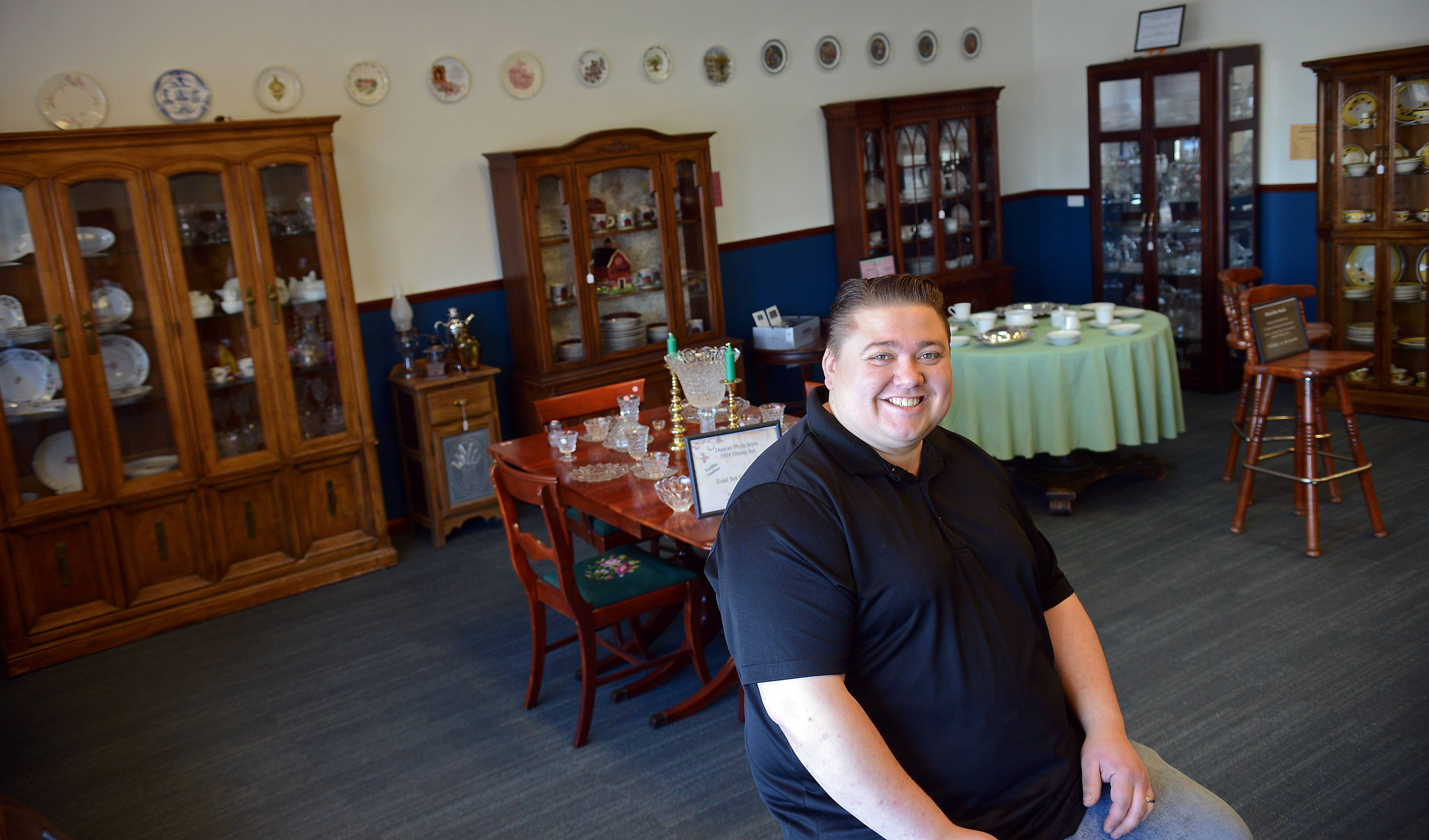 Nick Utech recently opened Second Chances Antiques and Resale on Randall Road in Lake in the Hills.