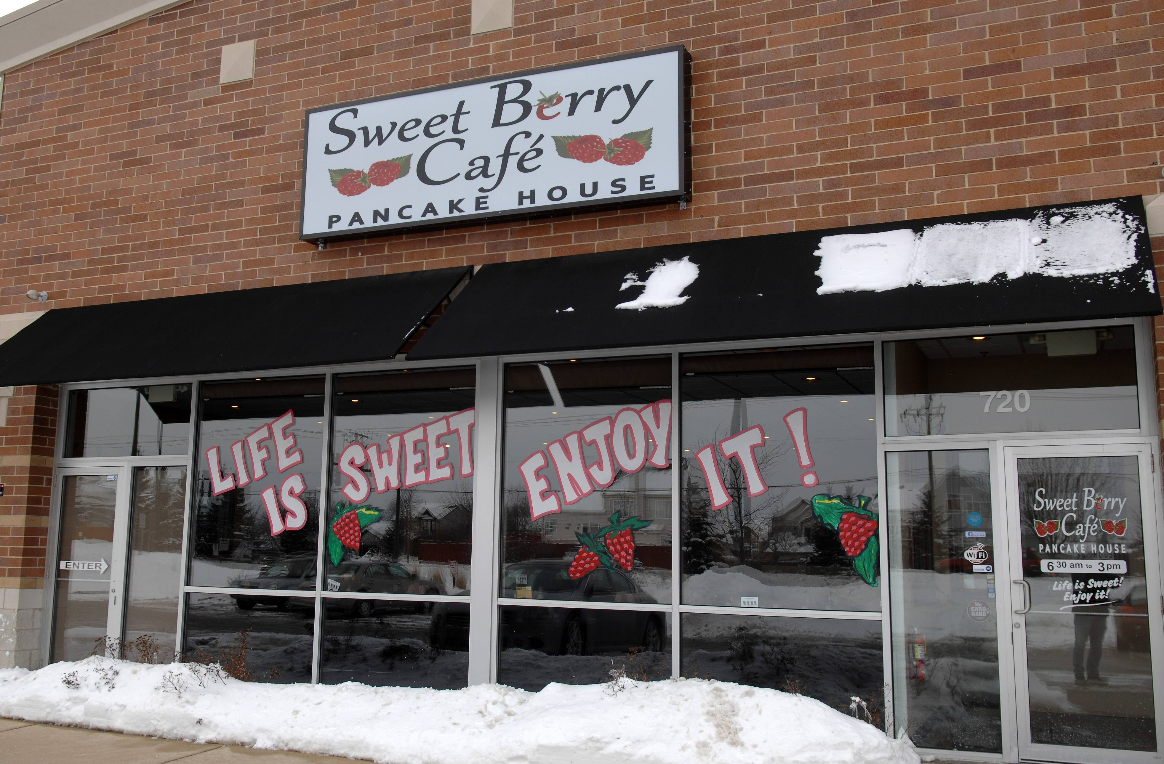 Sweet Berry Cafe opened last year on McLean Boulevard in South Elgin.