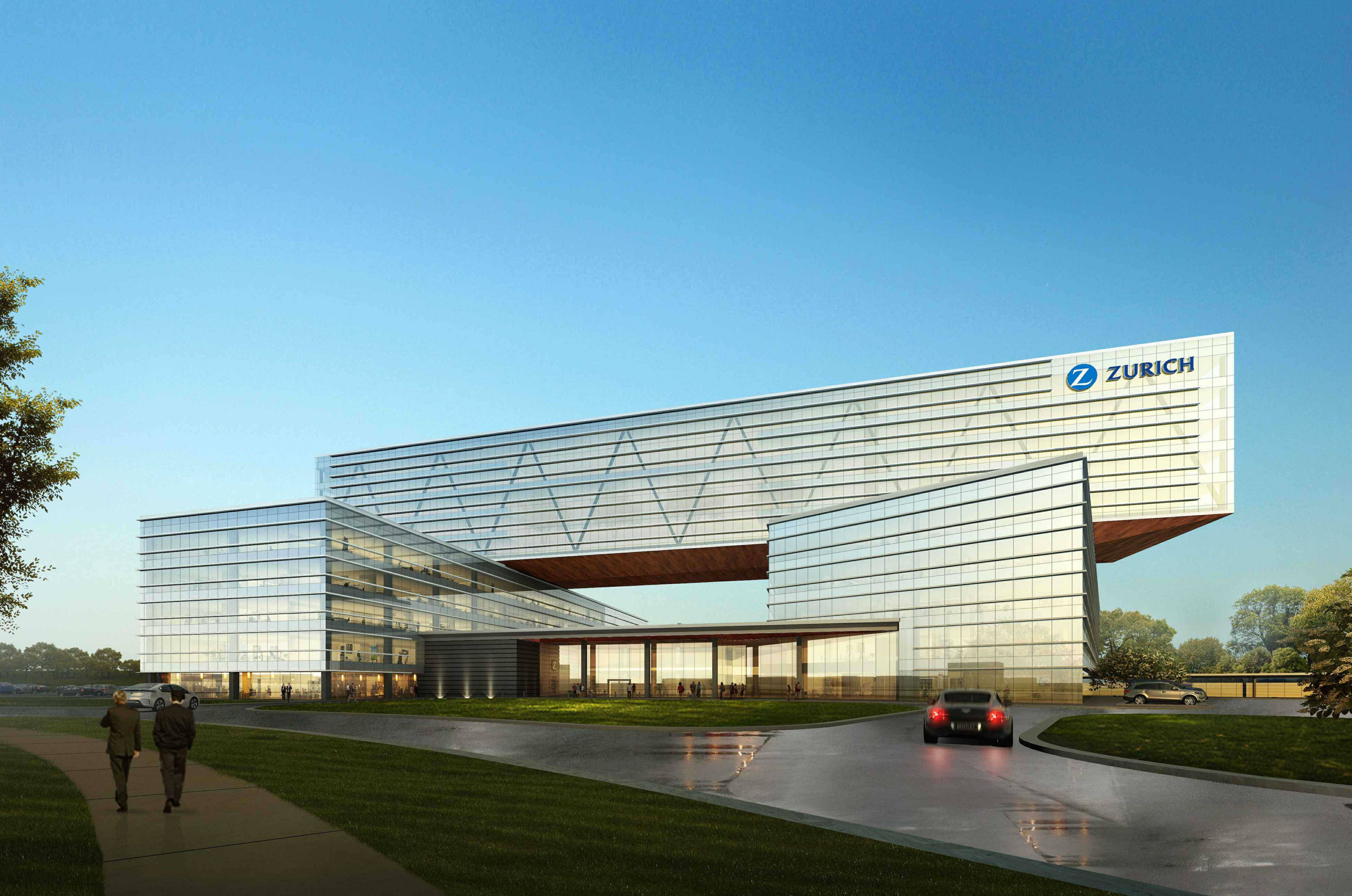 Schaumburg officials on Tuesday gave final approval to the proposed new Zurich American Insurance headquarters on the Motorola Solutions campus. The planned 750,000-square-foot headquarters will sit at the northwest corner of Meacham Road and the Jane Addams Memorial Tollway.
