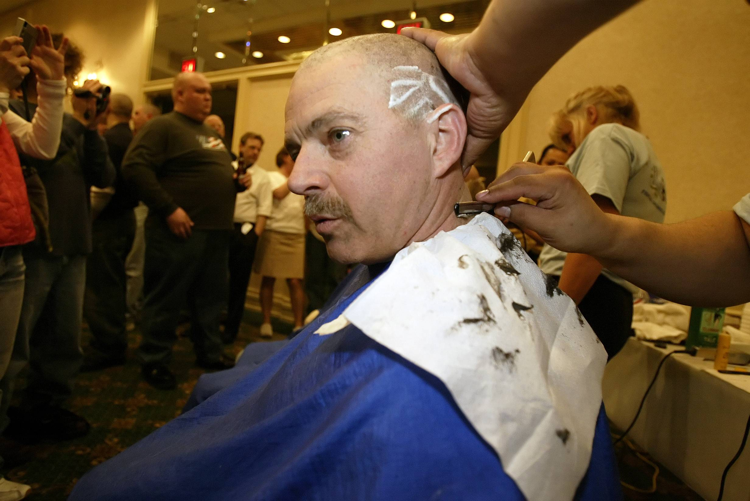 Naperville's police and fire departments began hosting St. Baldrick's head-shaving fundraisers for childhood cancer research nine years ago. At the 10th annual event from 6 to 9 p.m. March 1, organizers expect to reach the $1 million mark in total funds raised.
