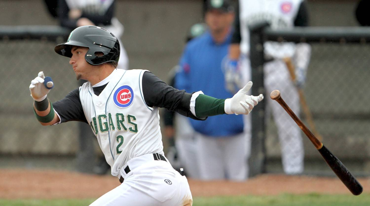 Photo courtesy of Kane County Cougars � Cubs prospect Albert Almora of the Kane County Cougars has had a solid start in Geneva with the Class A club.