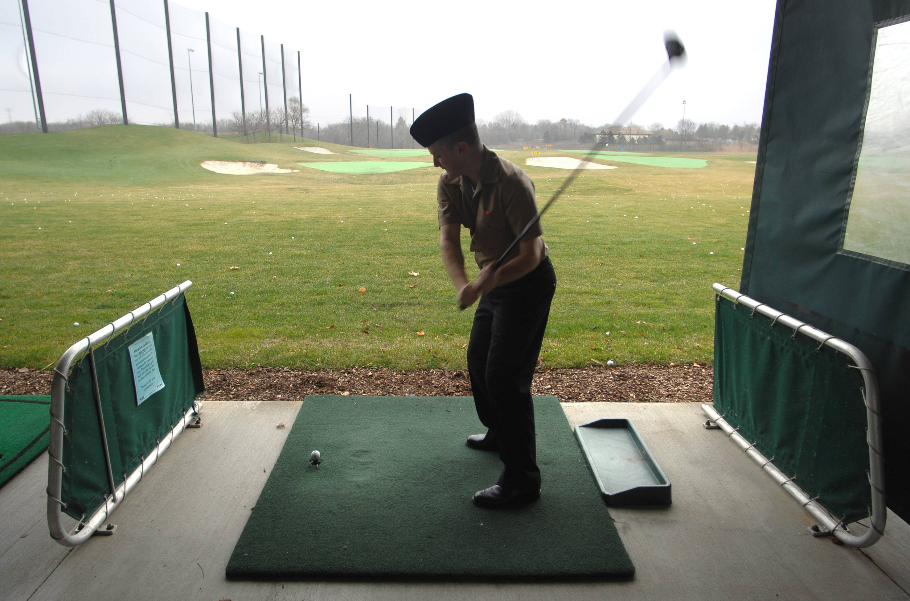 The driving range at the Libertyville Sports Complex is among the elements owned by the village of Libertyville that have been for sale.