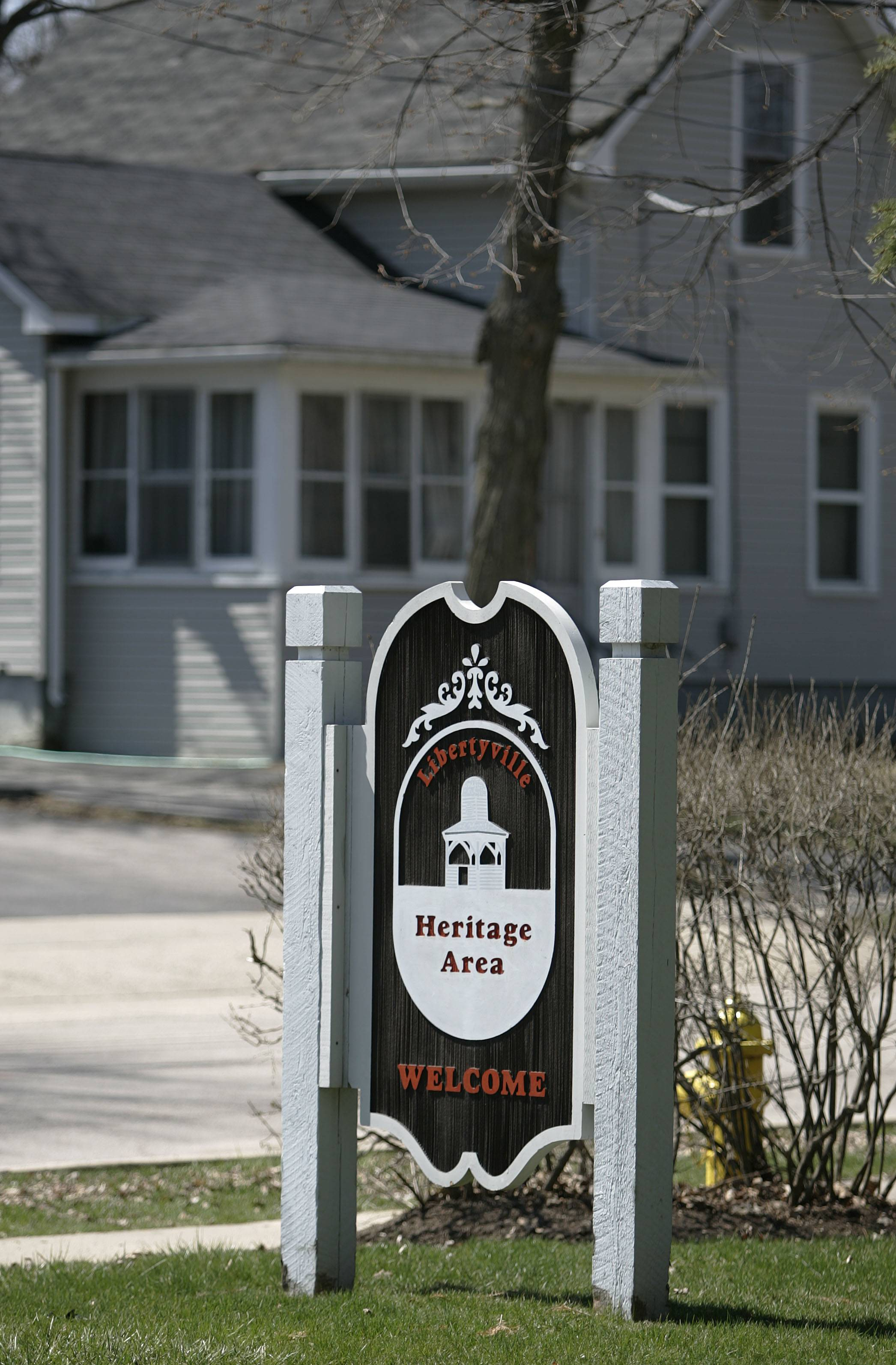 Libertyville's Heritage Area near downtown.