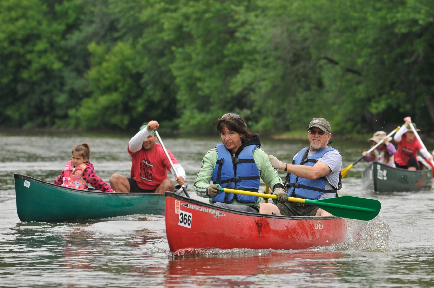Paddlers of all ages and abilities will take to the Fox River on June 1, when the Mid-American Canoe and Kayak Race returns for its 53rd year.