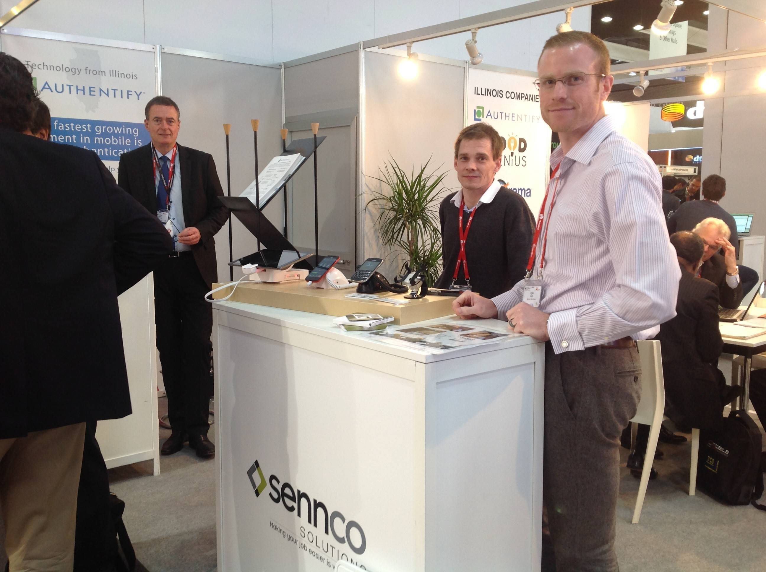 Sennco Solutions Inc. of Plainfield participated in the Mobile World Congress this week in Barcelona, Spain.