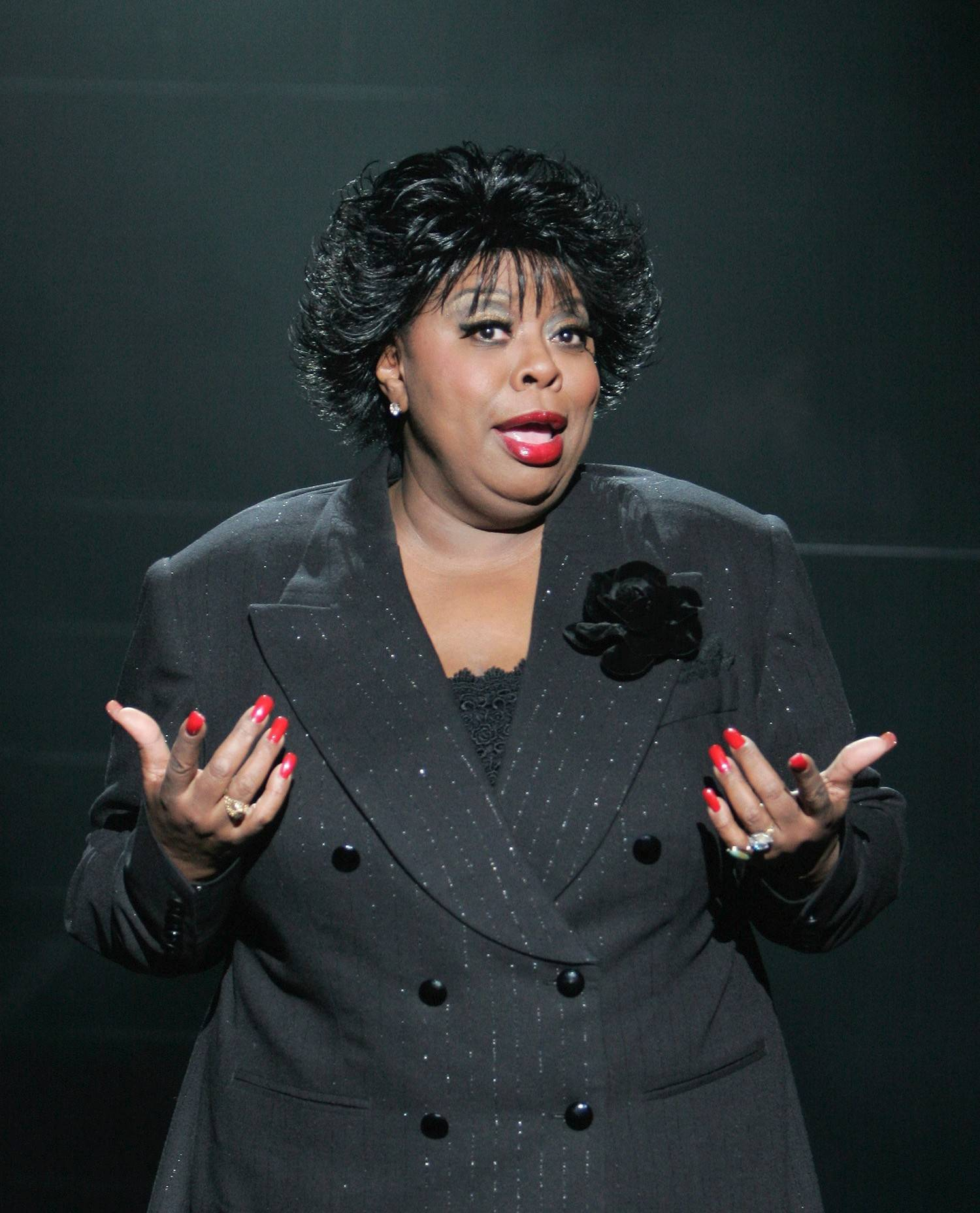 "Carol Woods stars as Matron ""Mama"" Morton in the national tour of the Broadway smash ""Chicago,"" at Chicago's Bank of America Theatre through Sunday, March 2."