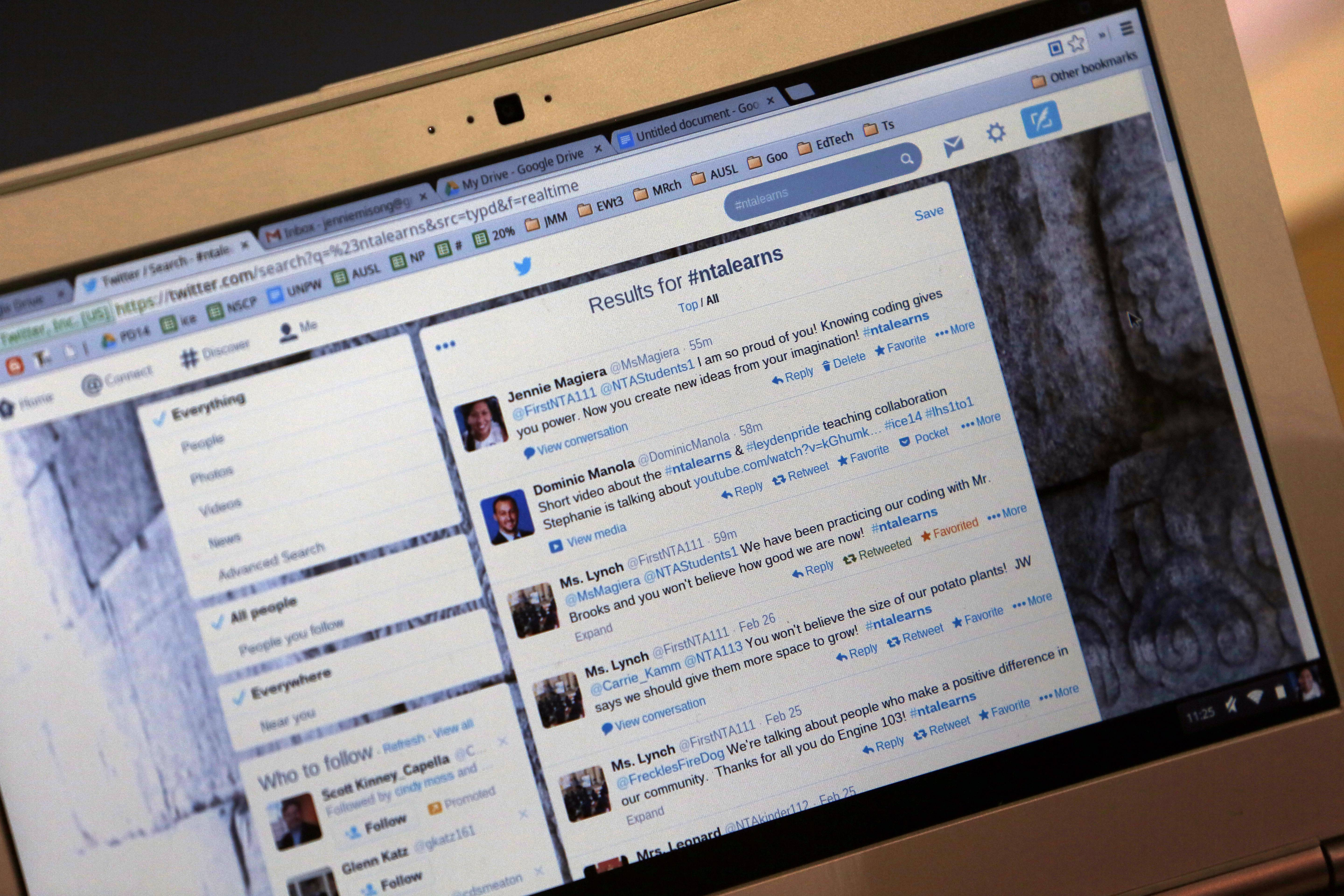 Some teachers are using Twitter to enhance their classroom and teaching experience.