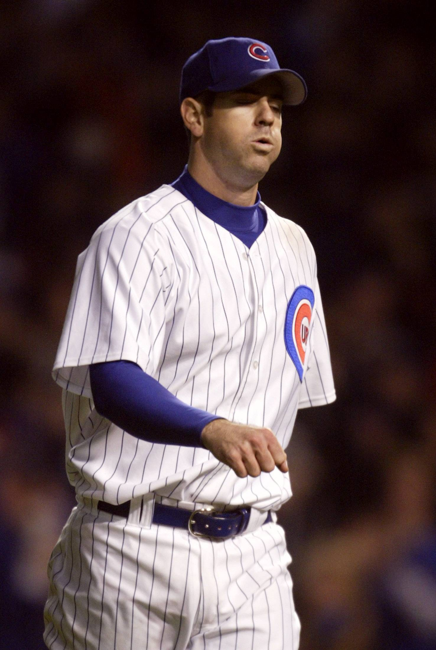 Just five outs away from a win that would have sent the Cubs to the World Series, young phenom Mark Prior gets pulled from the sixth game of the 2003 National League championship series. The Cubs lost the game, and the series, and Prior was never the same.