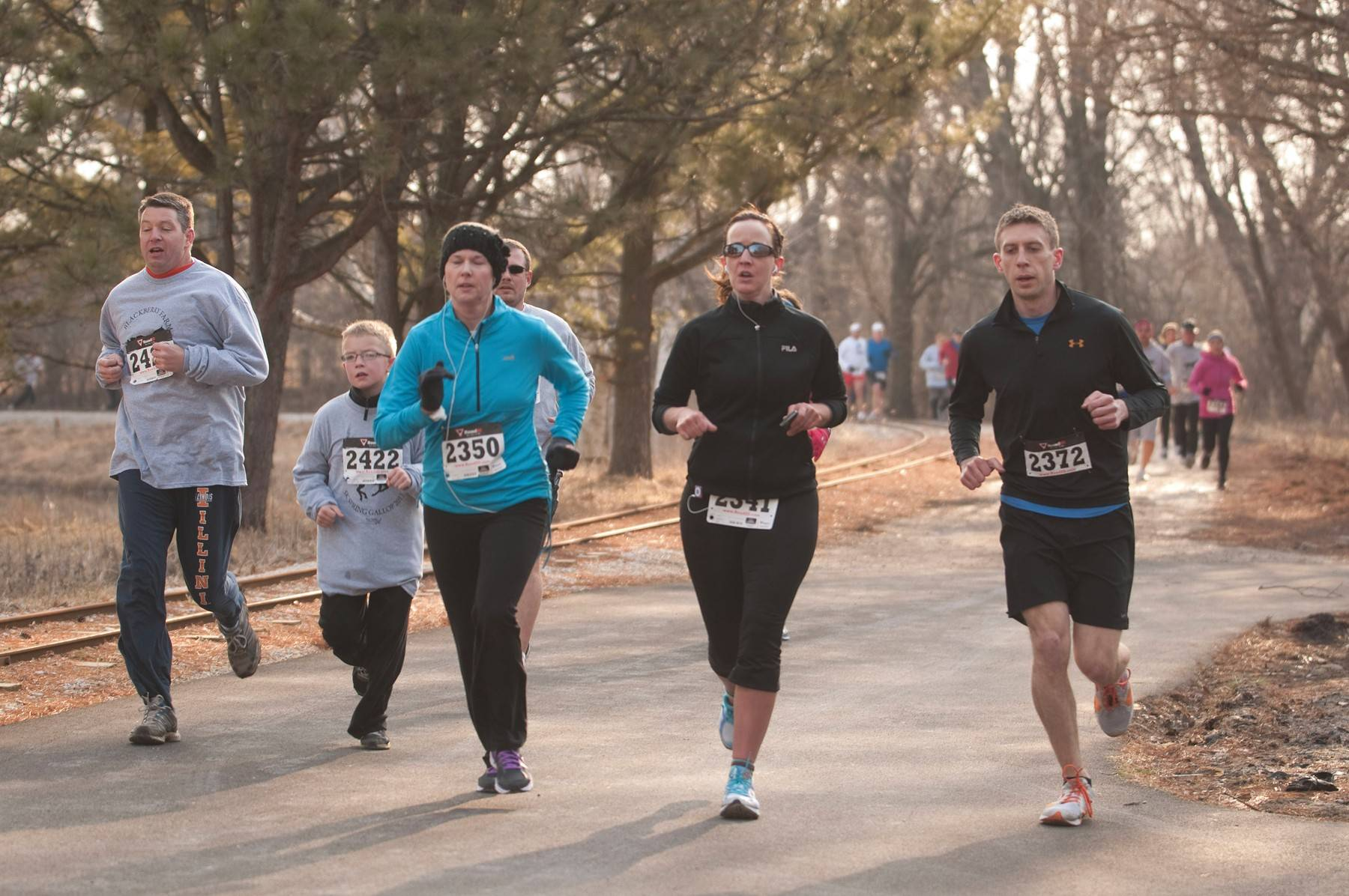 Runners of all ages and abilities will converge at Blackberry Farm on March 29 for the annual 5K Spring Gallop. Advance registration runs through March 21.