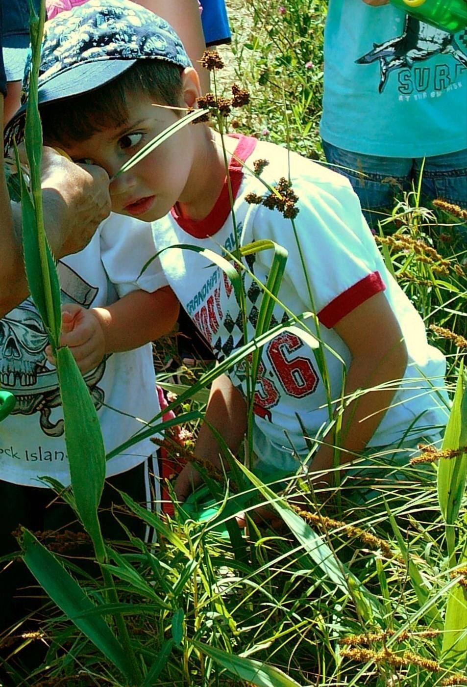 "Children ages 4 and 5 learn about nature in Citizens for Conservation's ""Beginning Naturalists""scheduled for June 9-13 in Barrington."