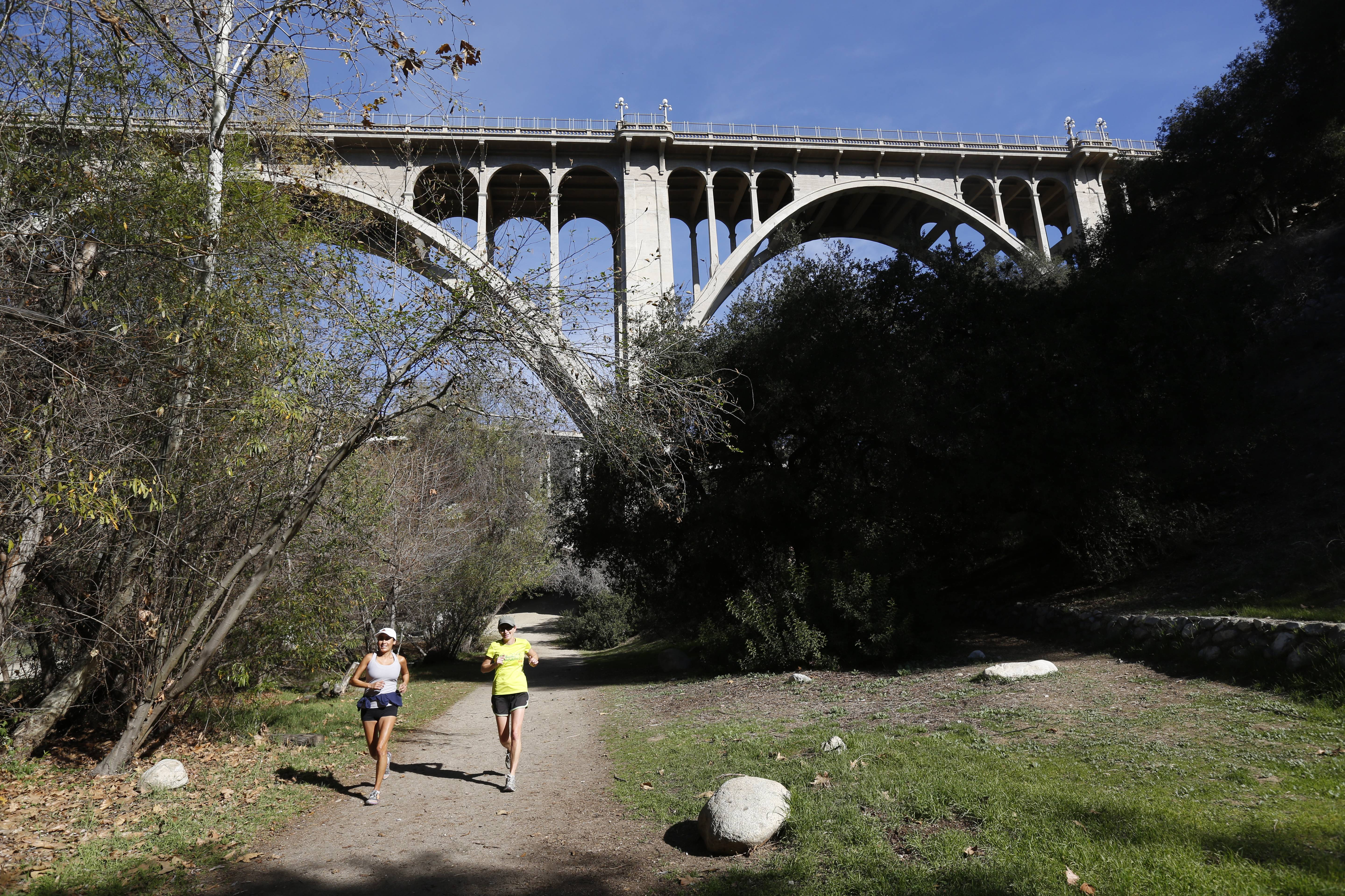 The Arroyo Seco area of Pasadena, Calif., is known for hiking, running and dog walking that includes 22 miles of trails next to a seasonal river and canyon.