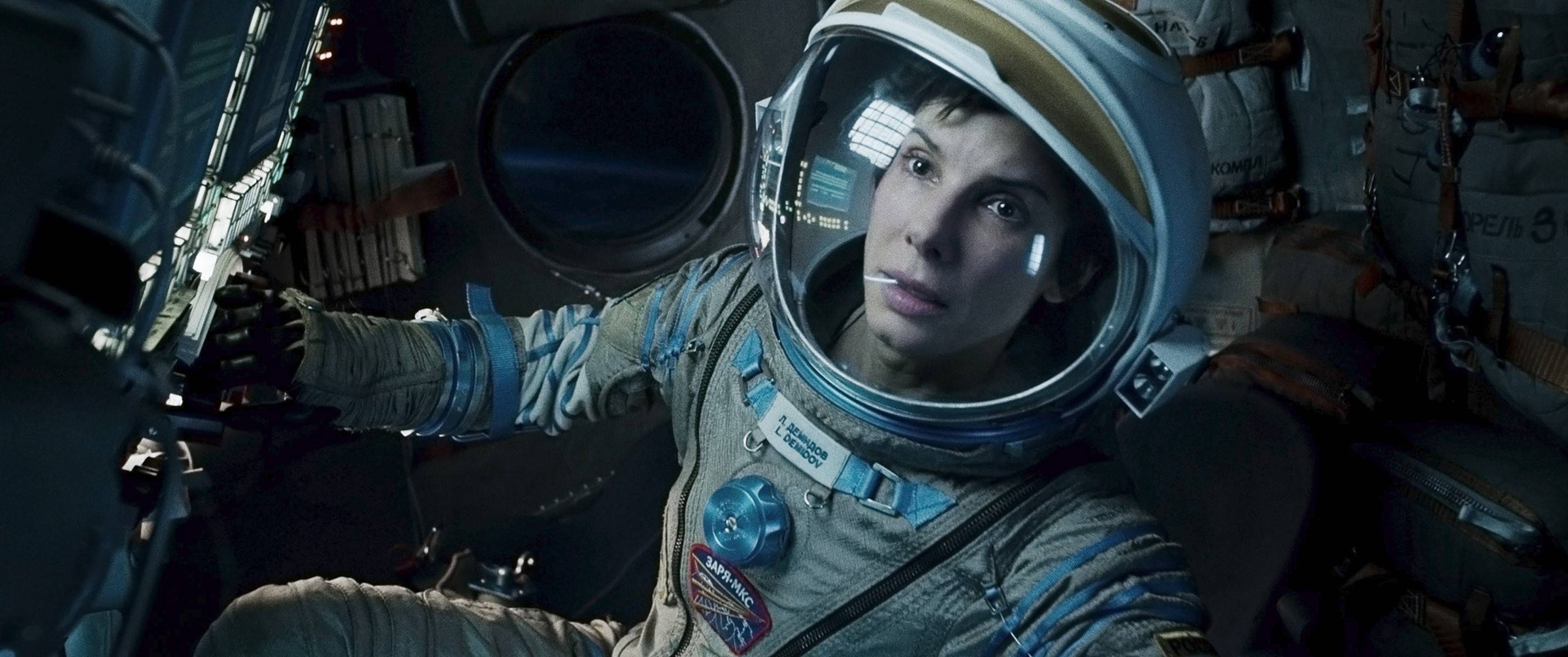 "Sandra Bullock plays a Lake Zurich astronaut in Alfonso Cuaron's ""Gravity,"" which will win the bulk of its Academy Award nominations."