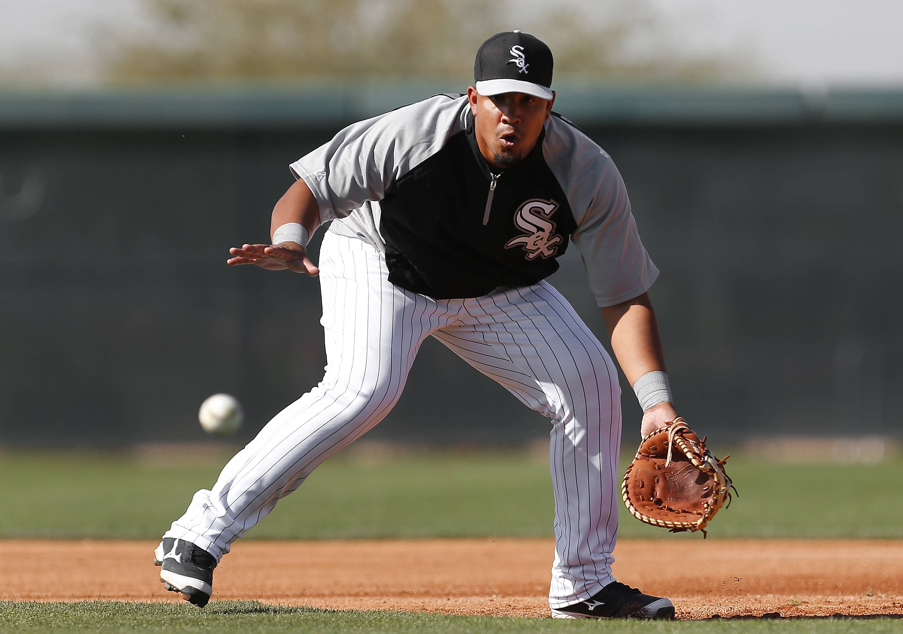 Chicago White Sox first baseman Jose Abreu has a $68 million contract that comes with a lot of pressure for a 27-year-old rookie.