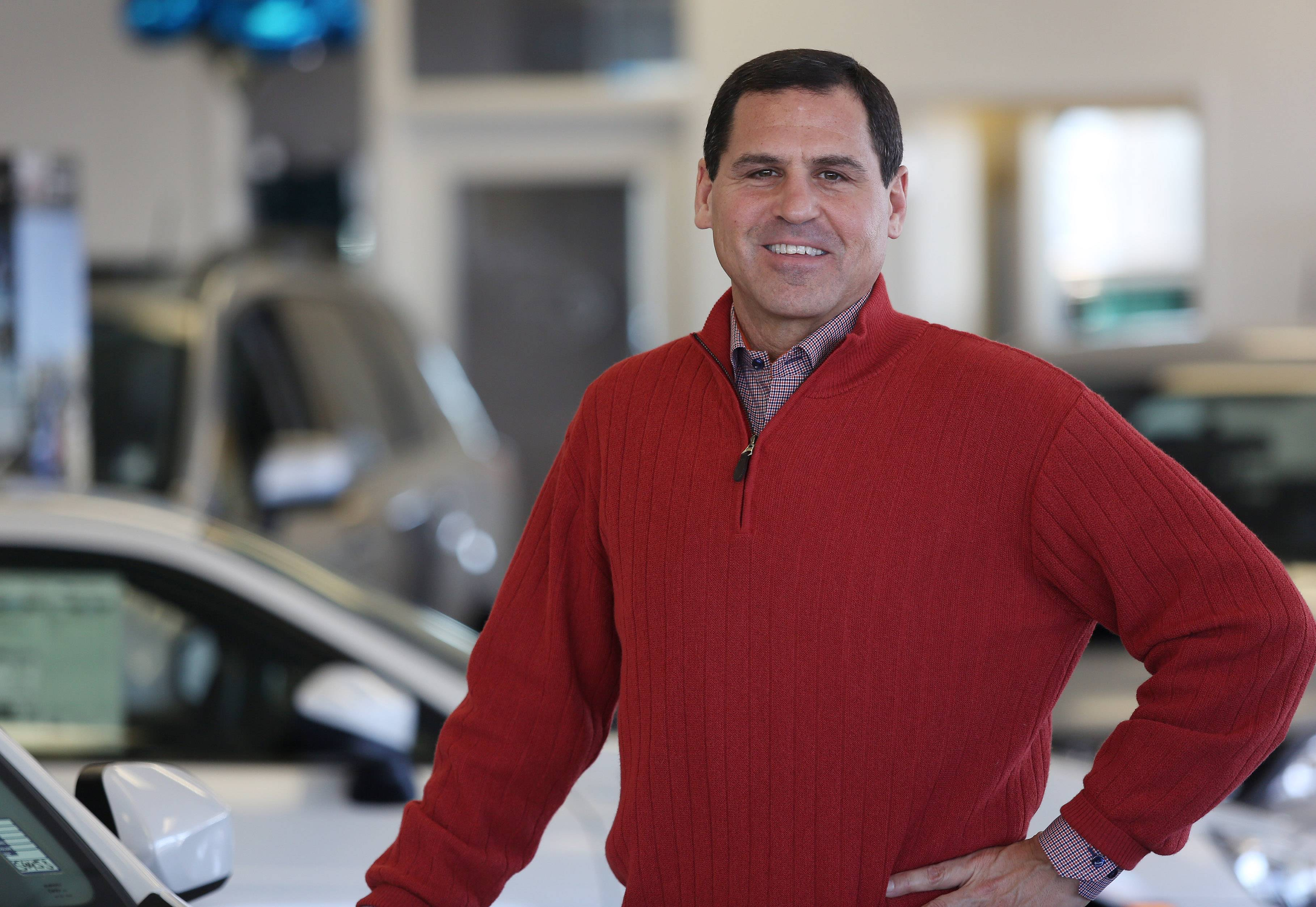 Mark Muller is the newest member of the Muller family to enter the auto business. After a lengthy career as a trader, he is now managing partner of Muller Auto Group, a Subaru/Volkswagen/Nissan dealership in Highland Park.