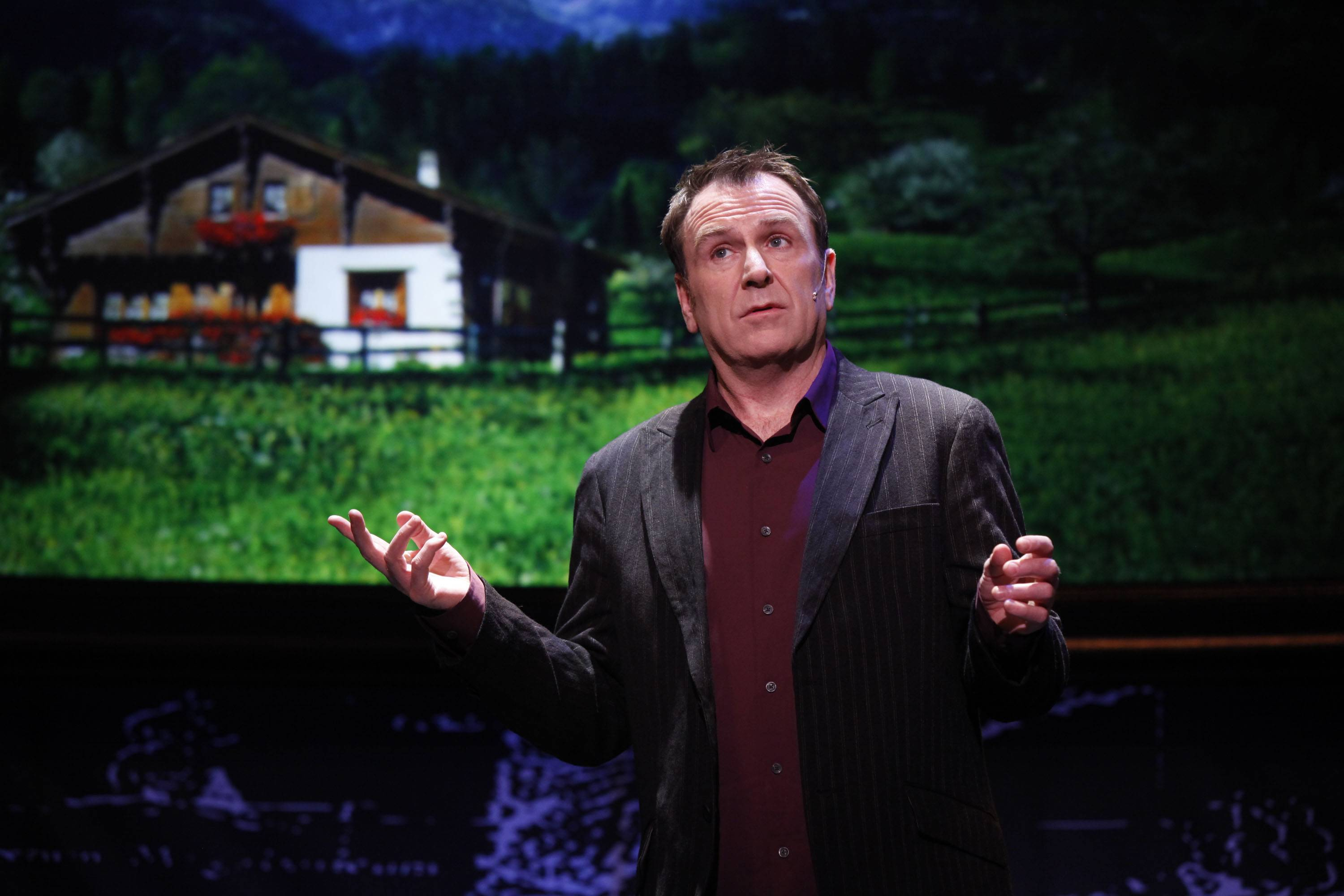 "Comedian Colin Quinn, seen here in his previous show ""Long Story Short,"" performs ""Unconstitutional"" at the North Shore Center for the Performing Arts in Skokie on Saturday, March 1."