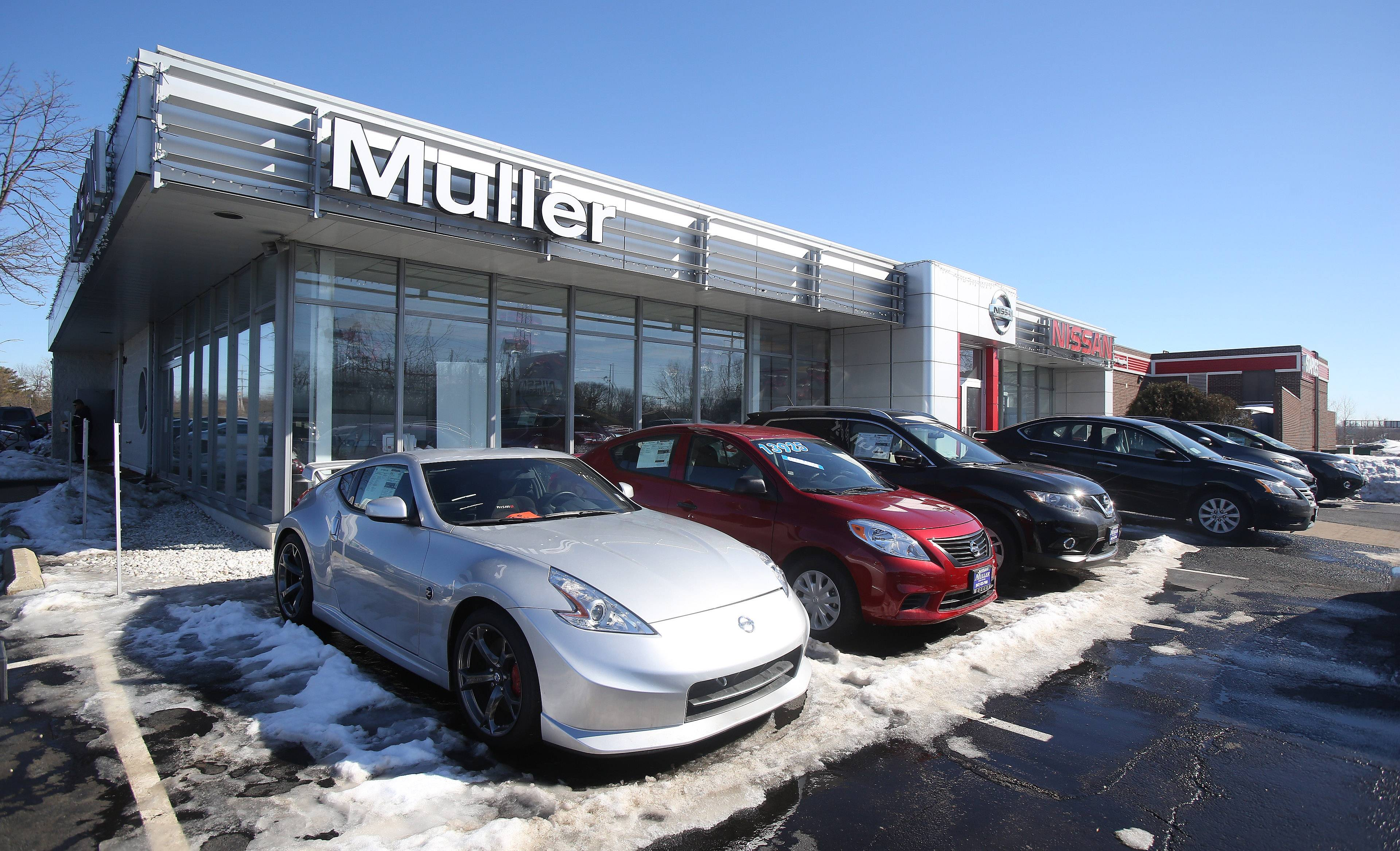 The Muller Auto Group encompasses a Nissan dealership in Highland Park.