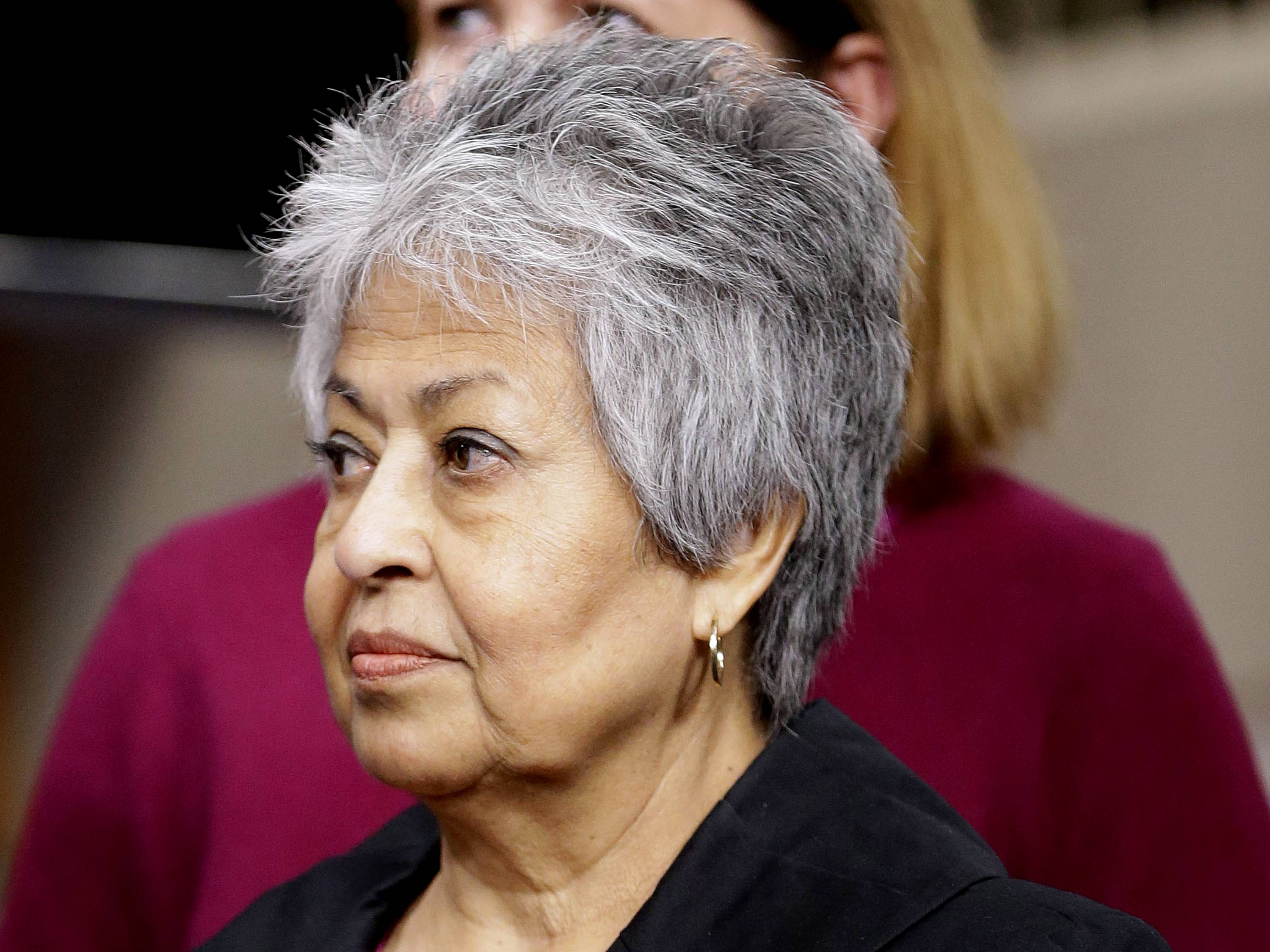 Then-Rep.-elect Gloria Negrete McLeod, a California Democrat. It took barely a year in Congress for McLeod to decide that she could do more for her California constituents by serving in county government.