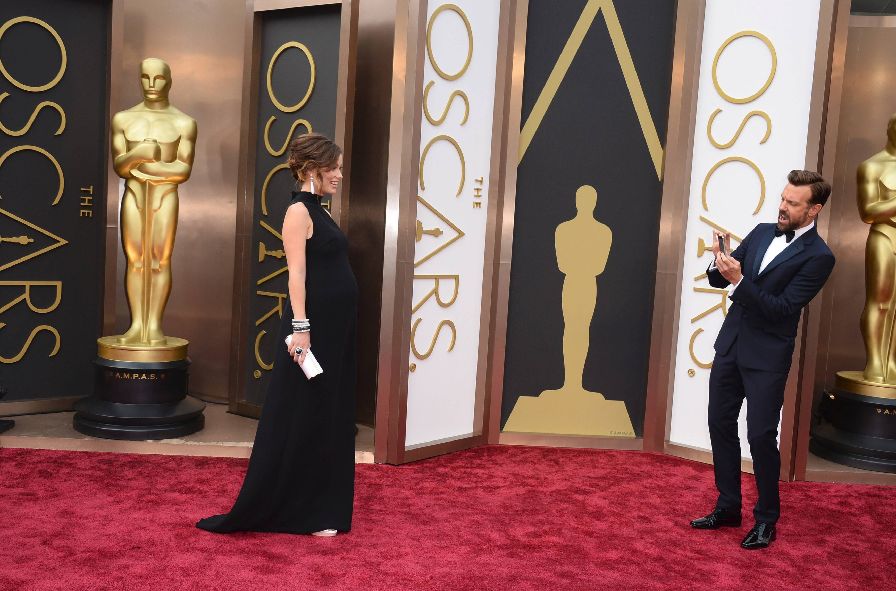 Images: Oscars red carpet