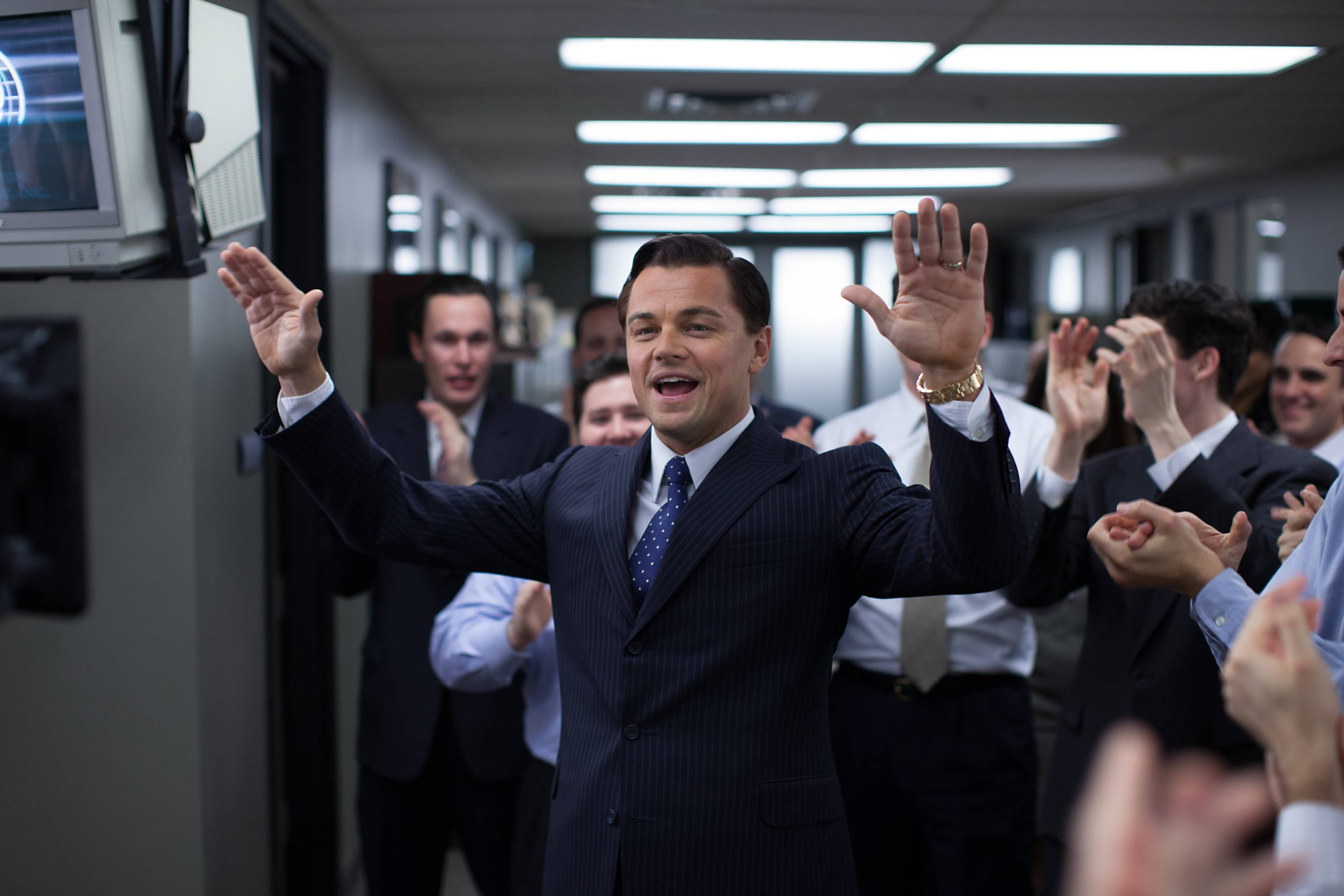 """The Wolf of Wall Street,"" starring Leonardo DiCaprio, has five Oscar nominations — including best picture. But it came very close to never getting made."