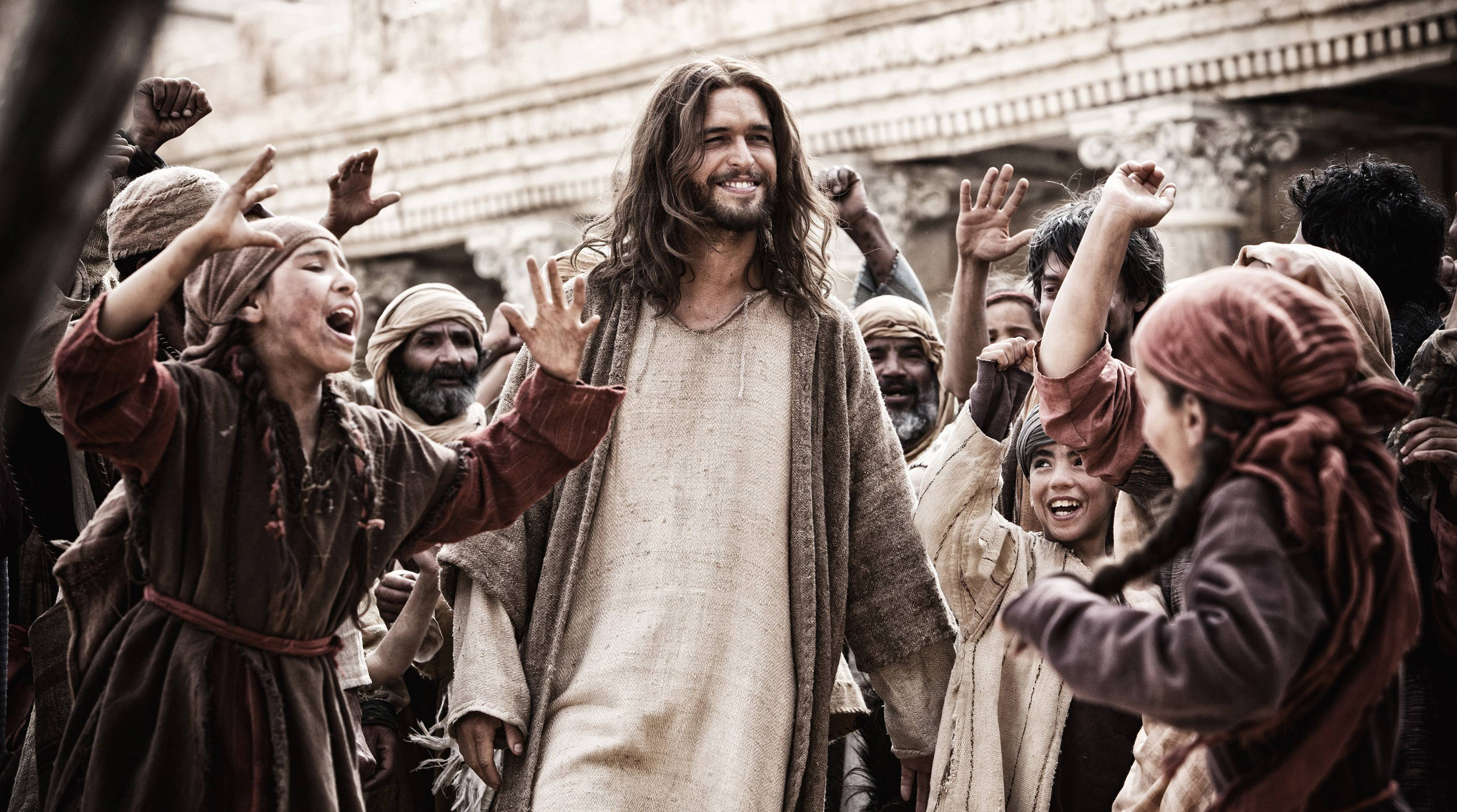 "This image released by 20th Century Fox shows Diogo Morgado in a scene from ""Son of God,"" which bowed at No. 1 with $26.5 million at the box office."