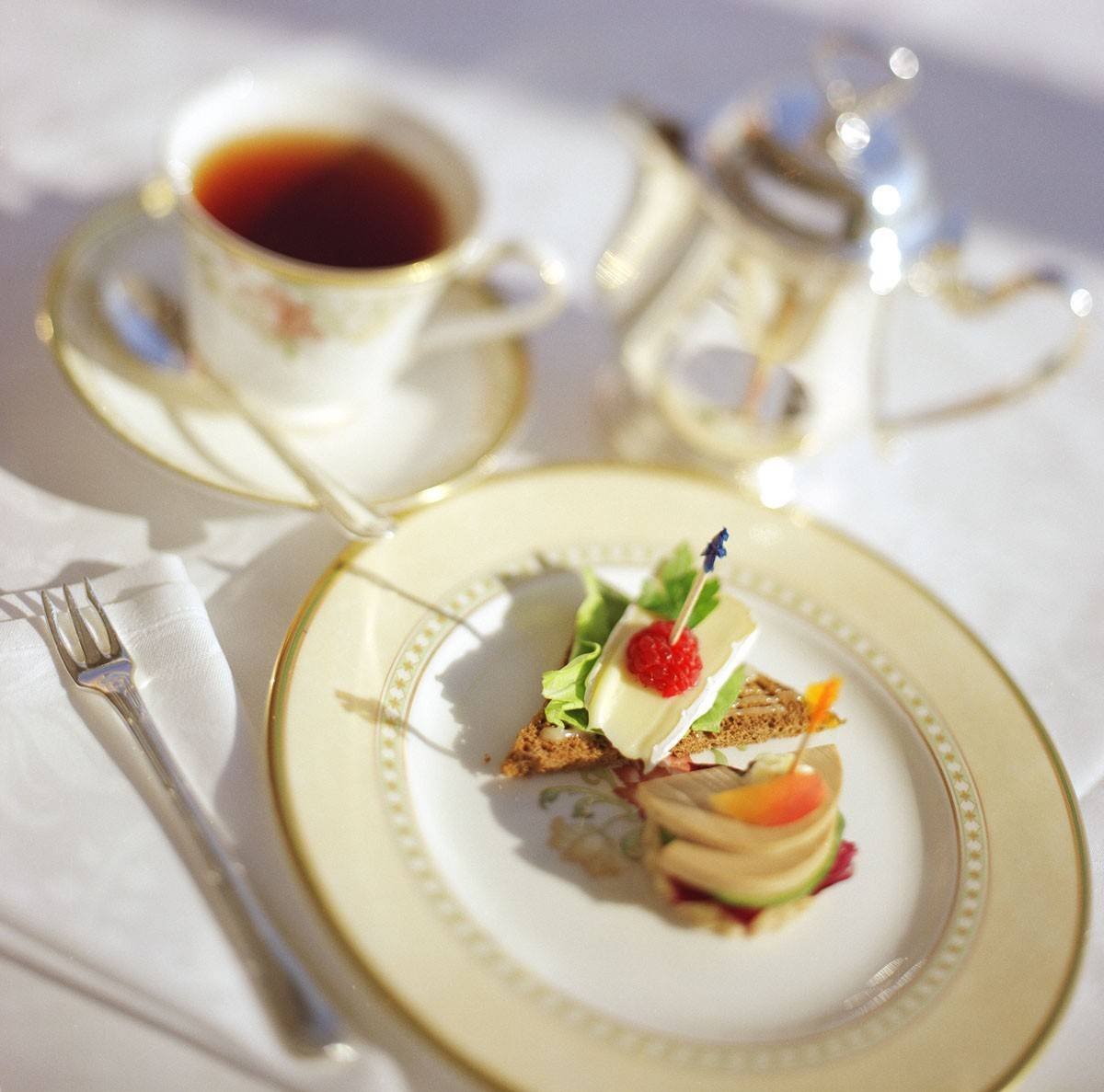 Even those who seek adventure, might enjoy taking a break for afternoon tea on a Crystal Cruise ship.