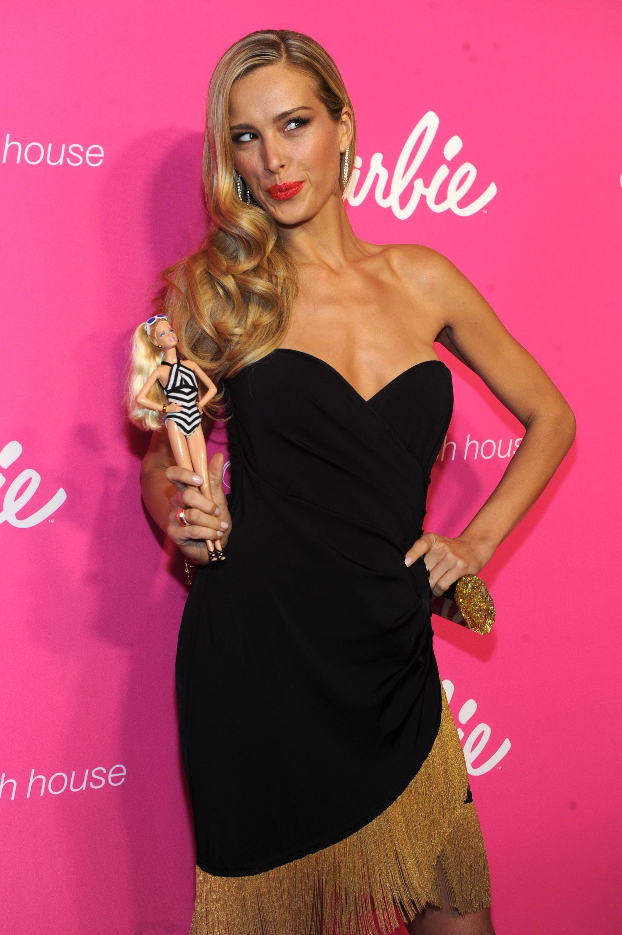 IMAGE DISTRIBUTED FOR BARBIE -- Model Petra Nemcova attends the Barbie and Sports Illustrated Swimsuit 50th anniversary celebration of the Sports Illustrated Swimsuit legends on Monday, Feb. 17, 2014, in New York. (Photo by Diane Bondareff/Invision for Barbie/AP Images)