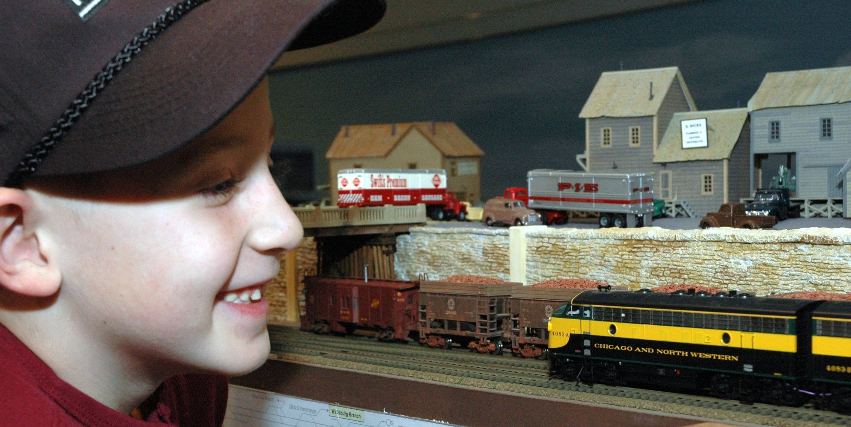 See 20 running model railroads at the High Wheeler Train Show at Harper College in Palatine.