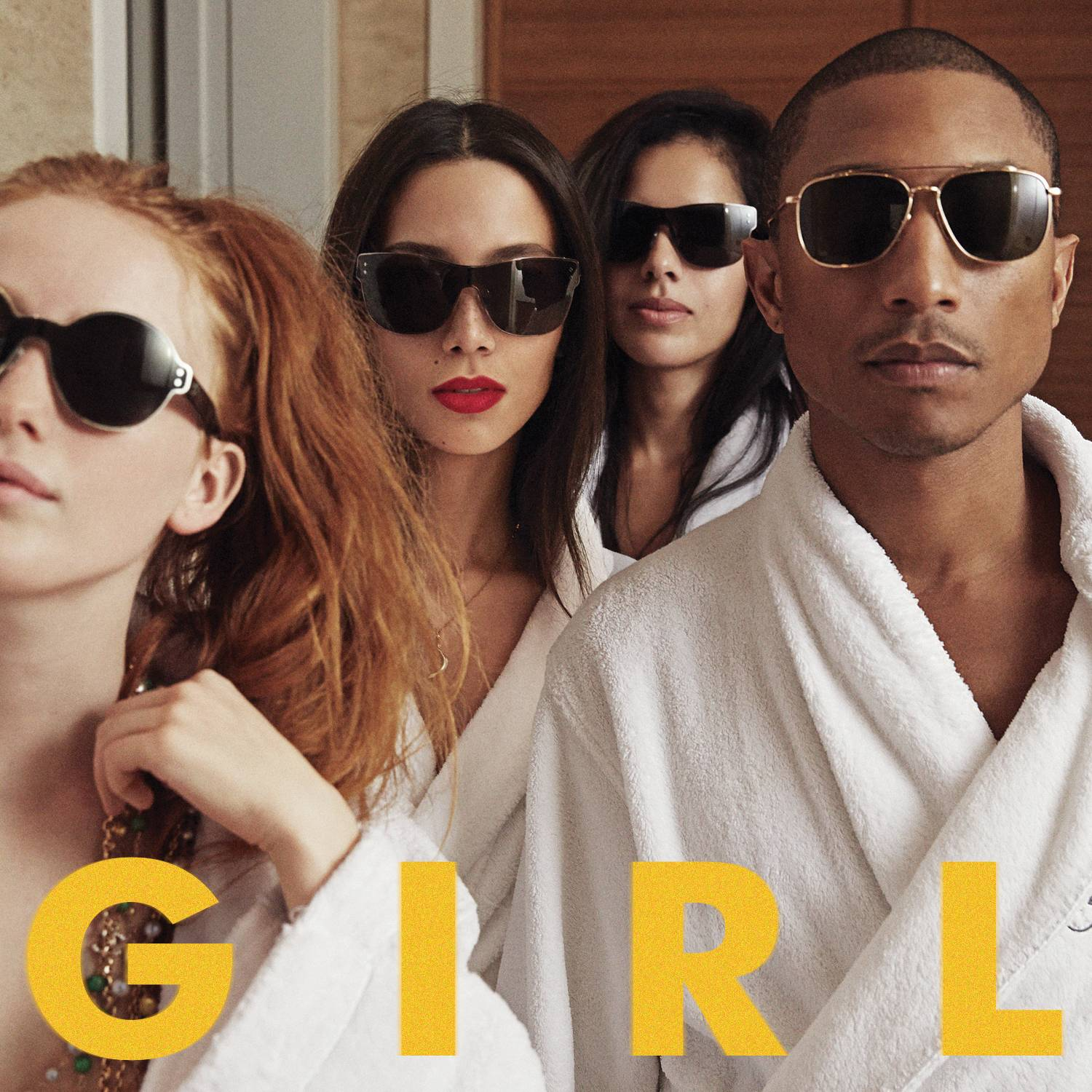 """G I R L"" is the latest release by Pharrell Williams."