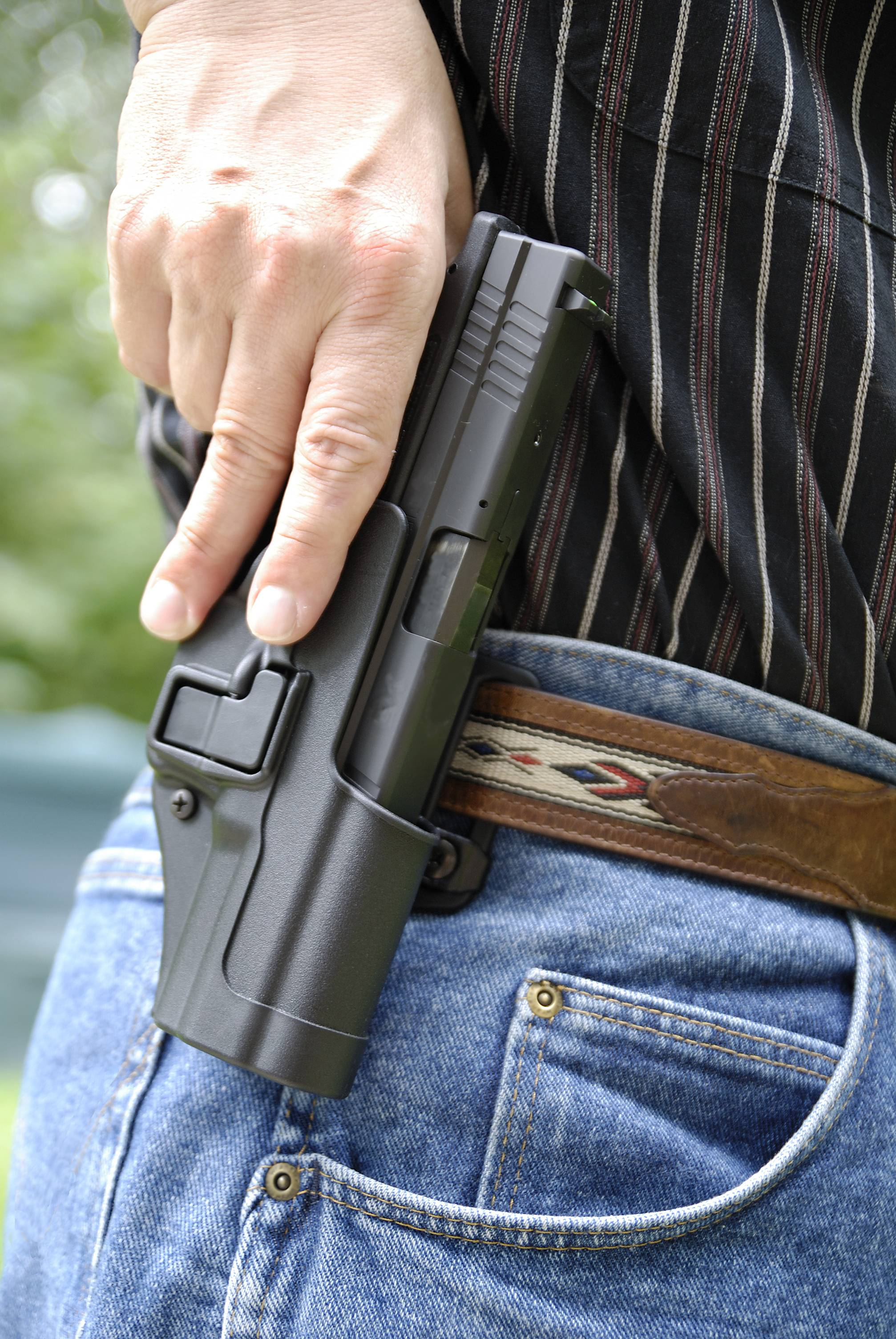 Concealed carry permits are out