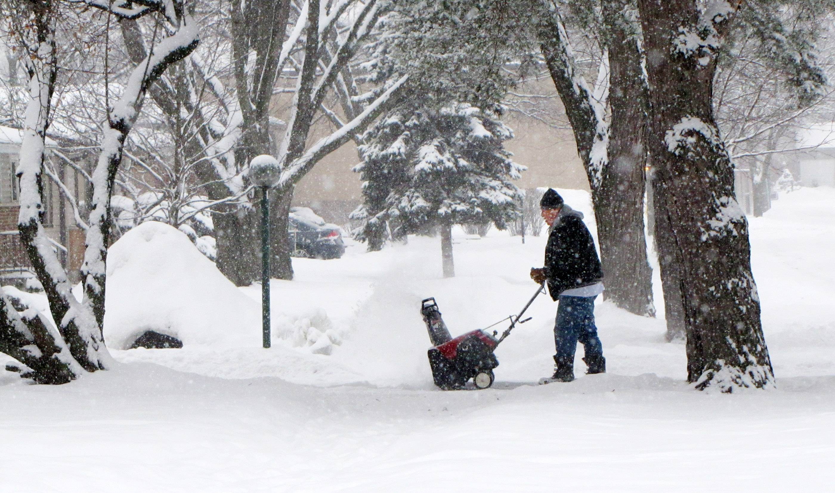 This winter, DuPage volunteers are helping weather professionals track snowfall at more than 60 points across the county. A Lisle observer has counted 37 snowy days since Dec. 1.