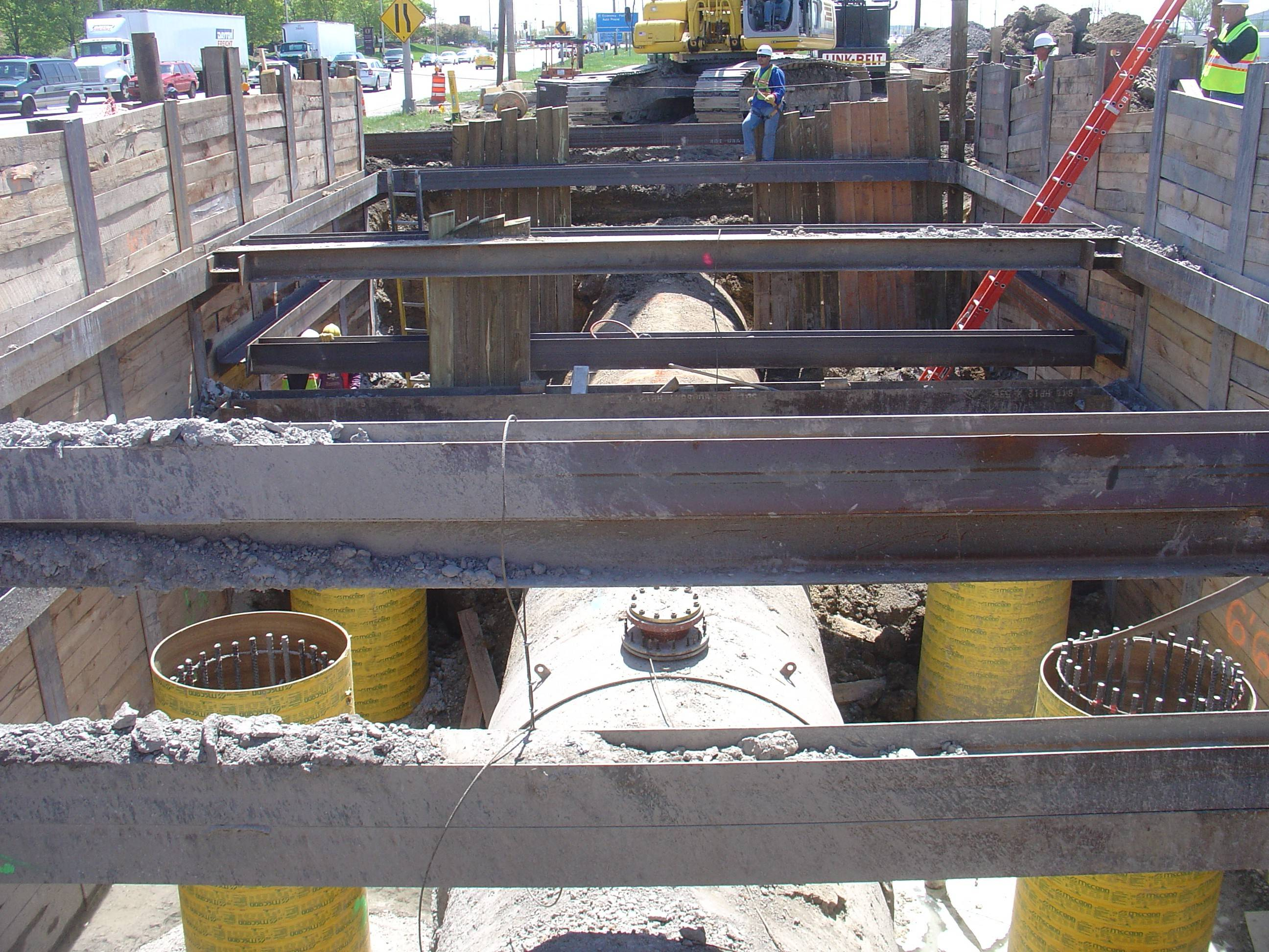 Relocating parts of a water pipeline serving seven Northwest Cook towns is a complicated and costly process.