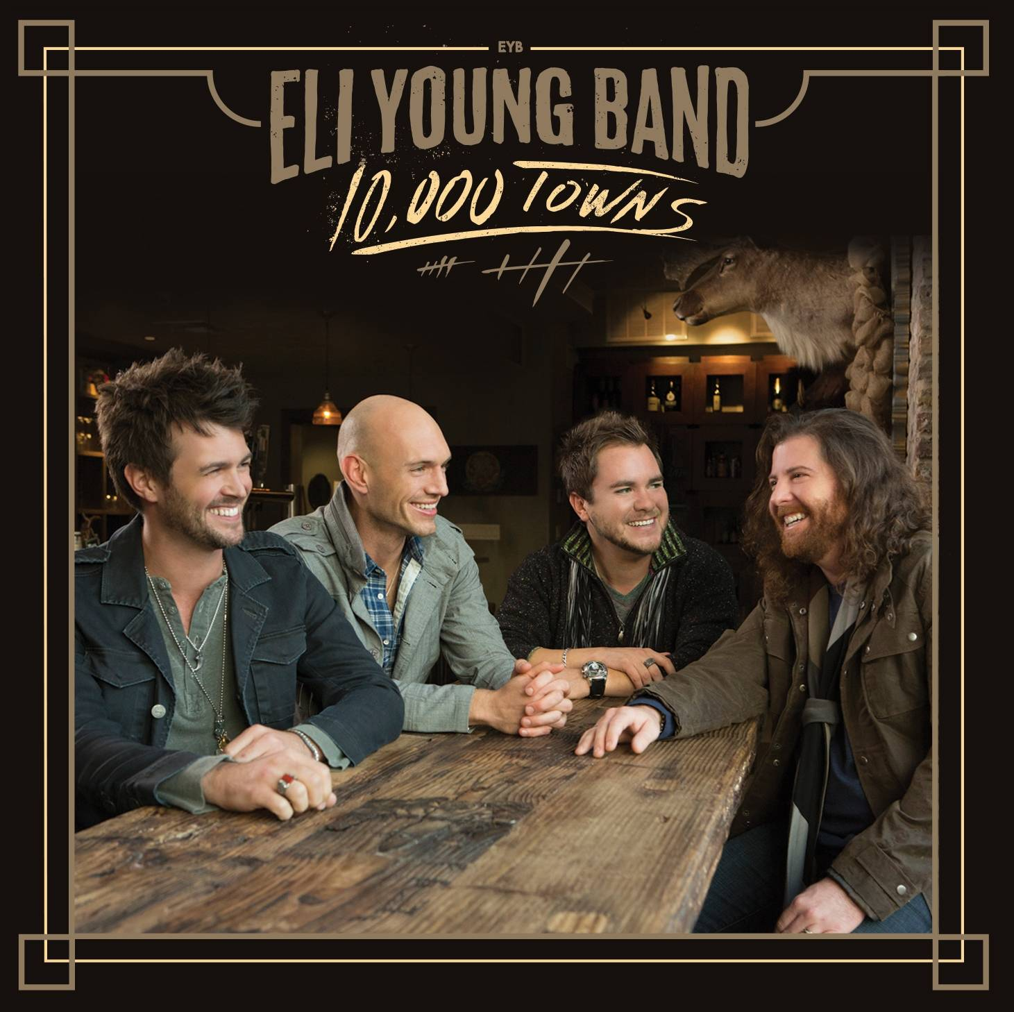 """10,000 Towns"" is the latest release by The Eli Young Band."
