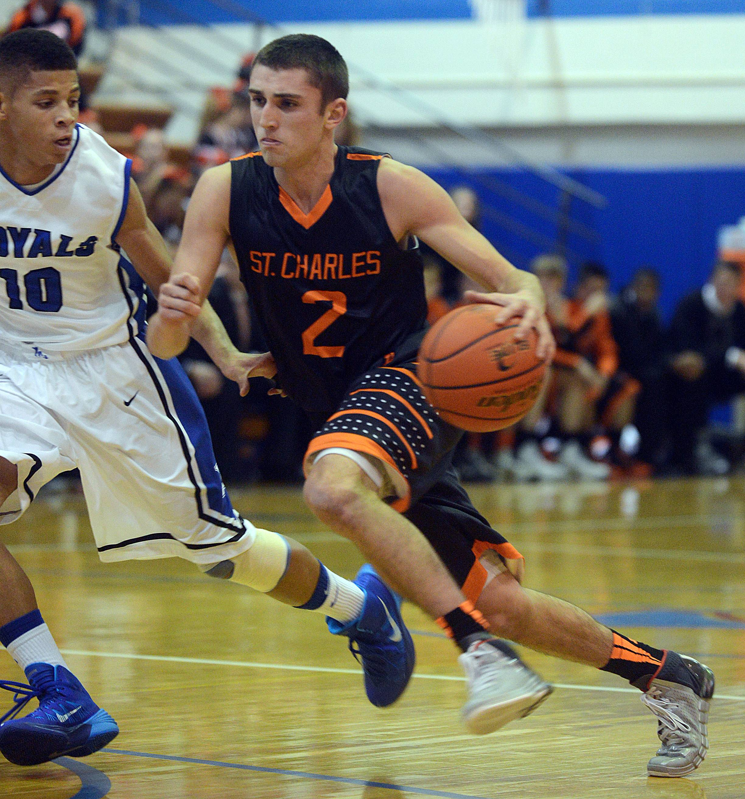 St. Charles East's Dom Adduci has been a 3-year standout for the Saints who hopes to keep his career going when they play St. Charles North on Wednesday night.