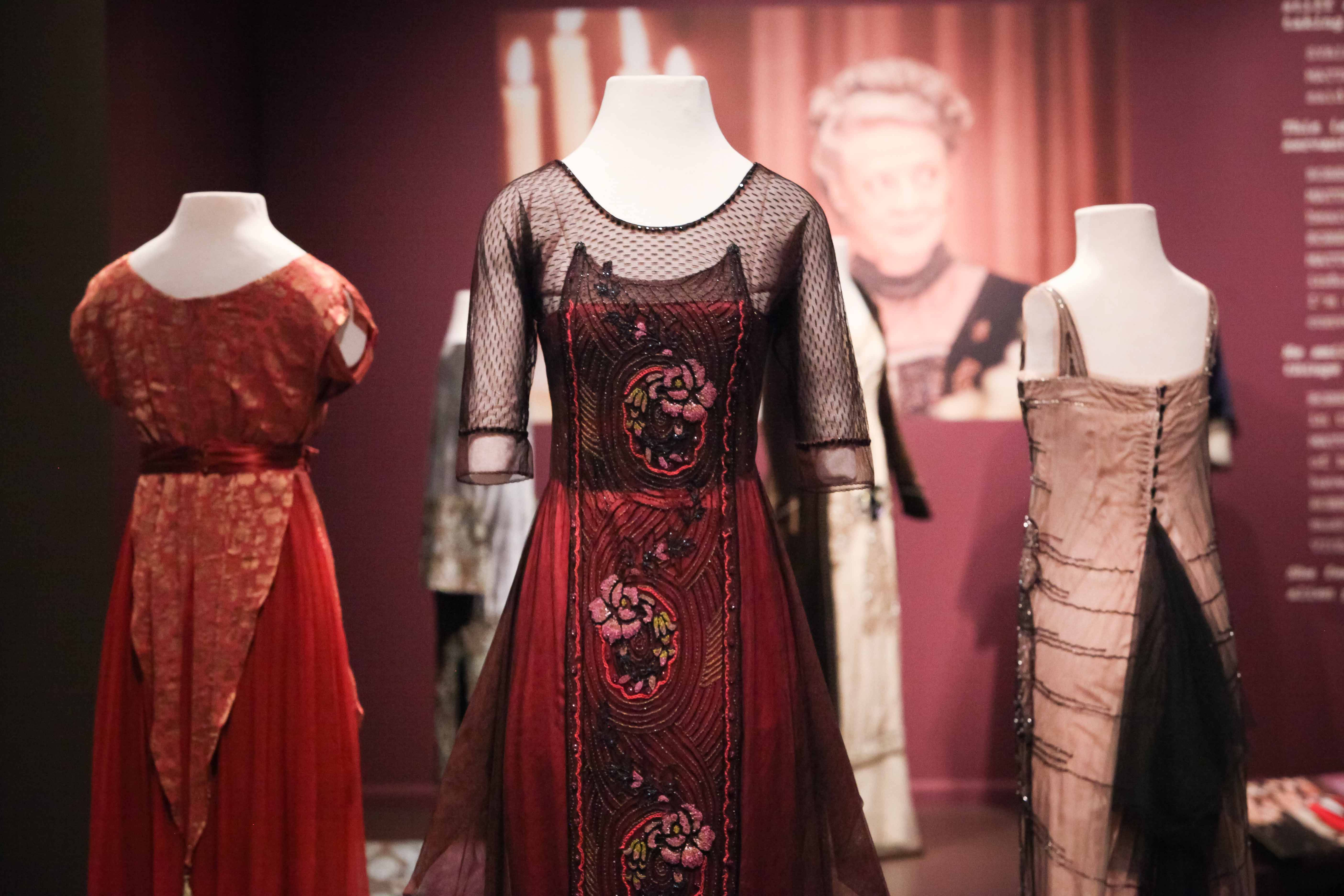 "Costumes from the hit British television drama ""Downton Abbey"" are now on display in a new exhibit at the Winterthur Museum in Wilmington, Del."