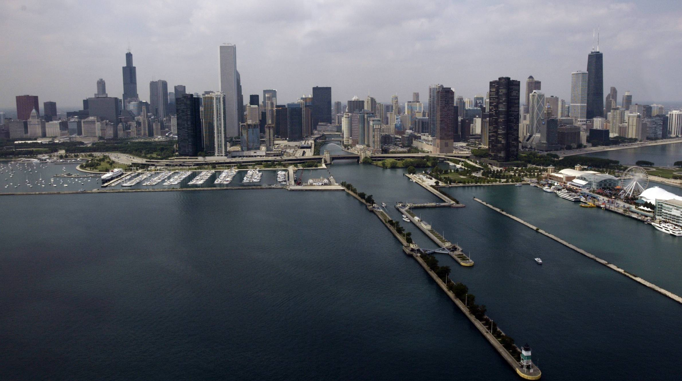 Moody's Investors Service has downgraded Chicago's credit rating, citing the city's unfunded pension liabilities.