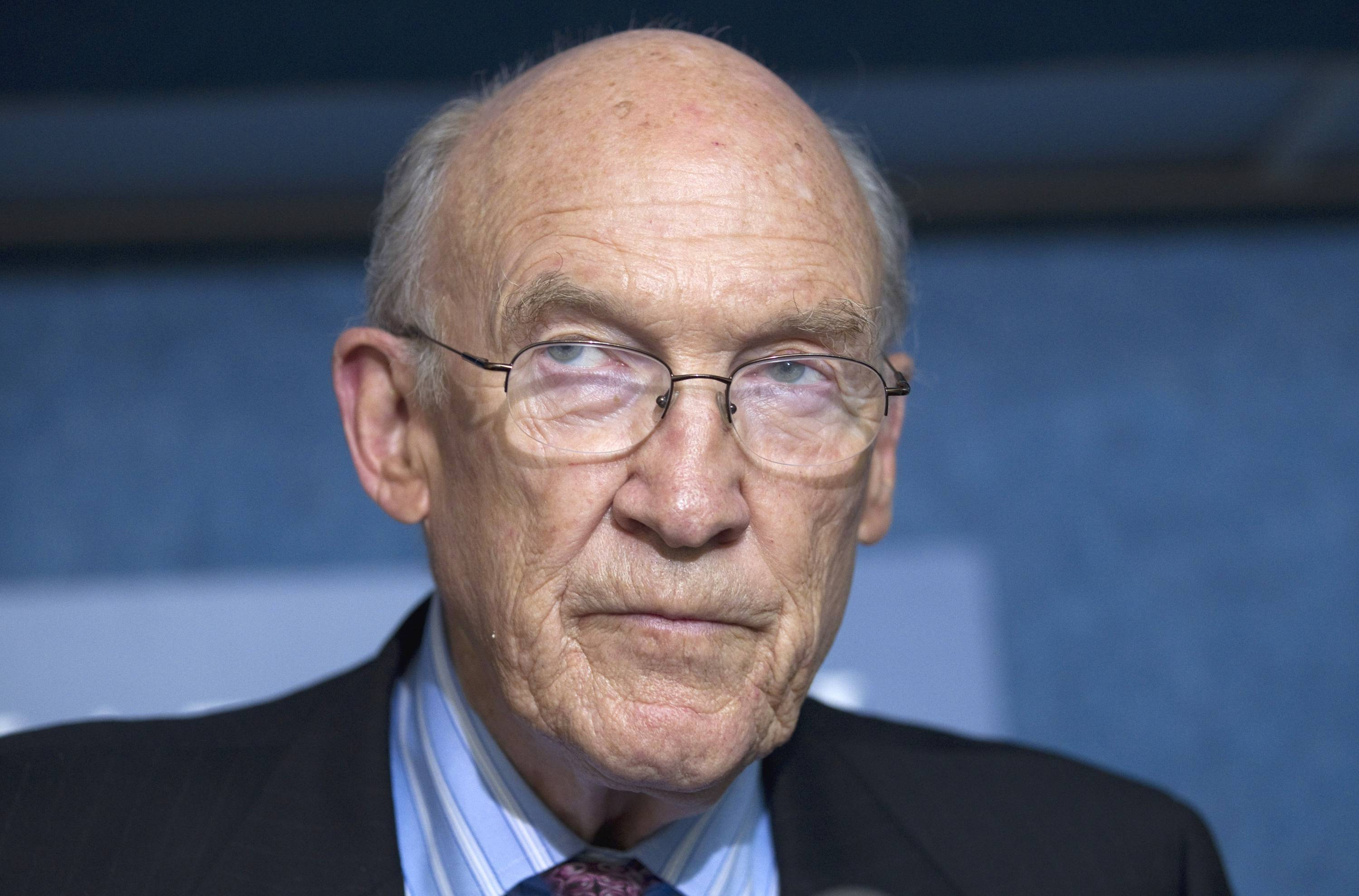 Former U.S. Sen. Alan Simpson from Wyoming is among a group of Republicans who have come out in support of legalizing gay marriage in Utah and Oklahoma, arguing that allowing same-sex unions is consistent with the Western conservative values of freedom and liberty once championed by Ronald Reagan and Barry Goldwater.