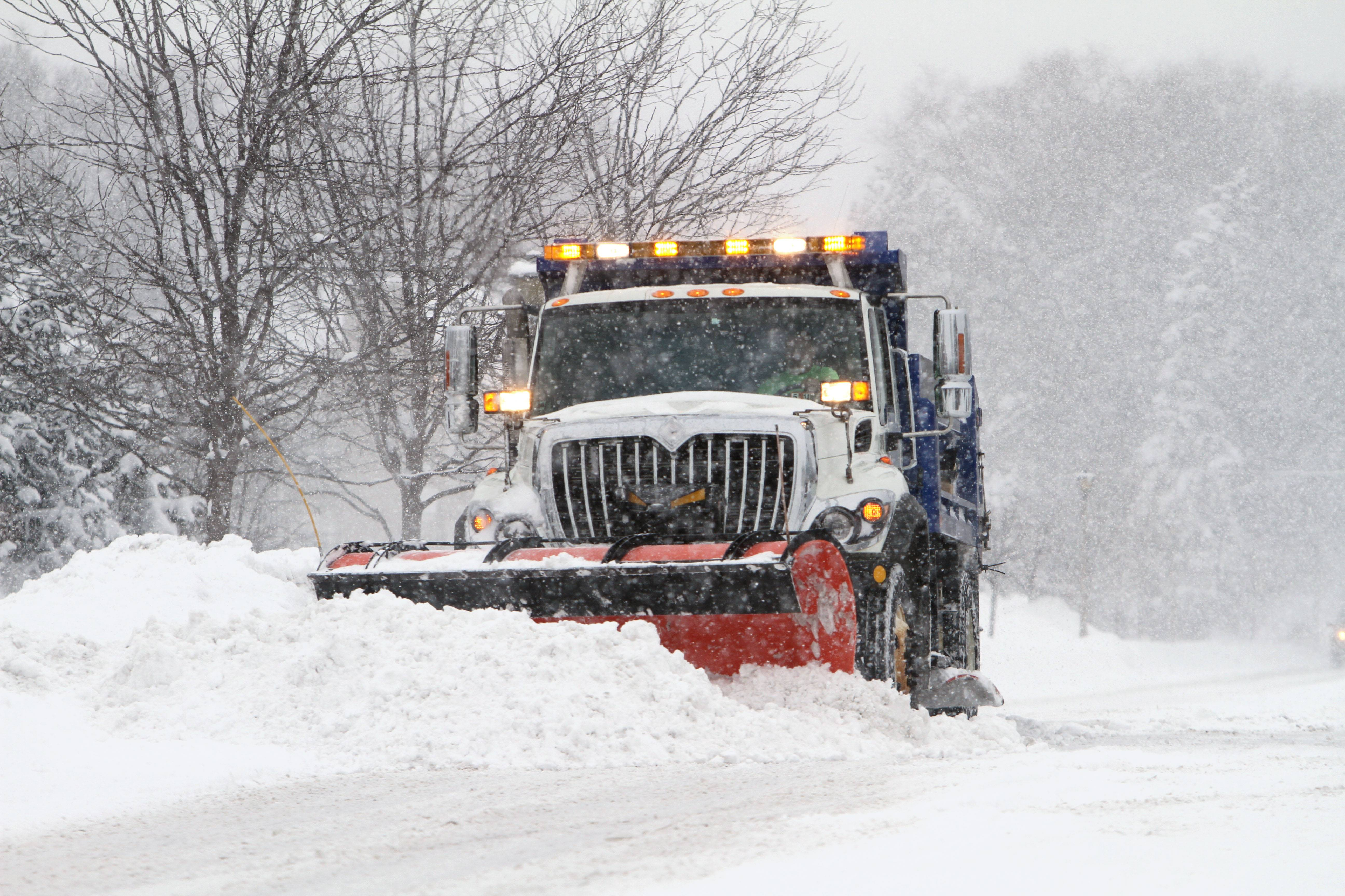 Snow plows are working overtime in many suburbs, including Arlington Heights, this winter.
