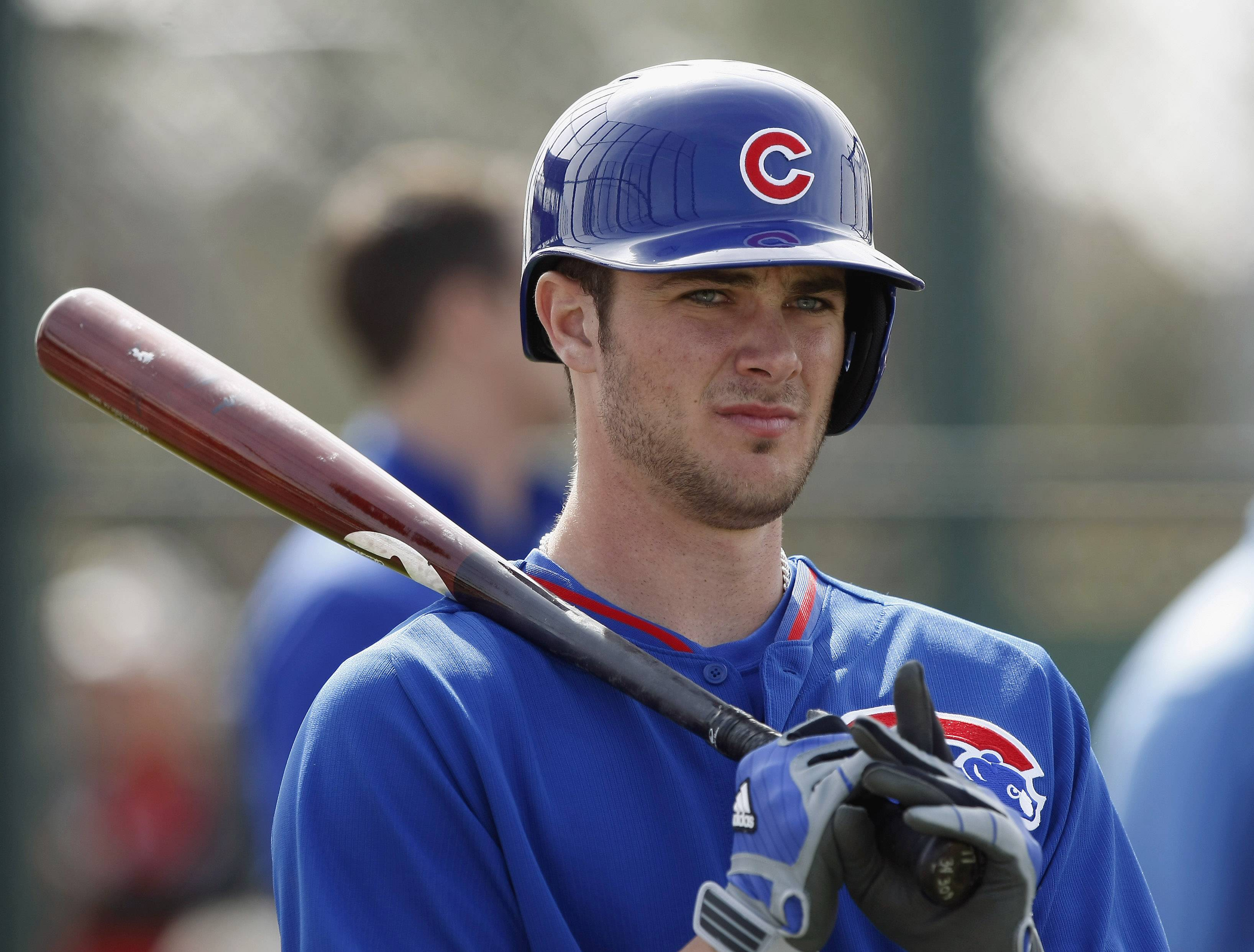 Cubs third baseman Kris Bryant is one of the team's many big-time prospects at spring camp this year.