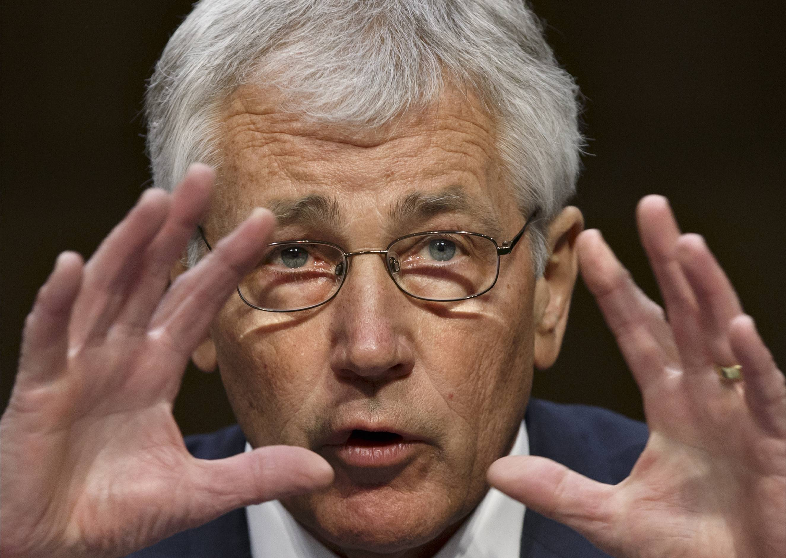 In response to Russia's takeover of Ukraine's Crimean Peninsula, Defense Secretary Chuck Hagel said the U.S. was stepping up joint aviation training with Polish forces. The Pentagon also is increasing American participation in NATO's air policing mission in its Baltic countries, he said.