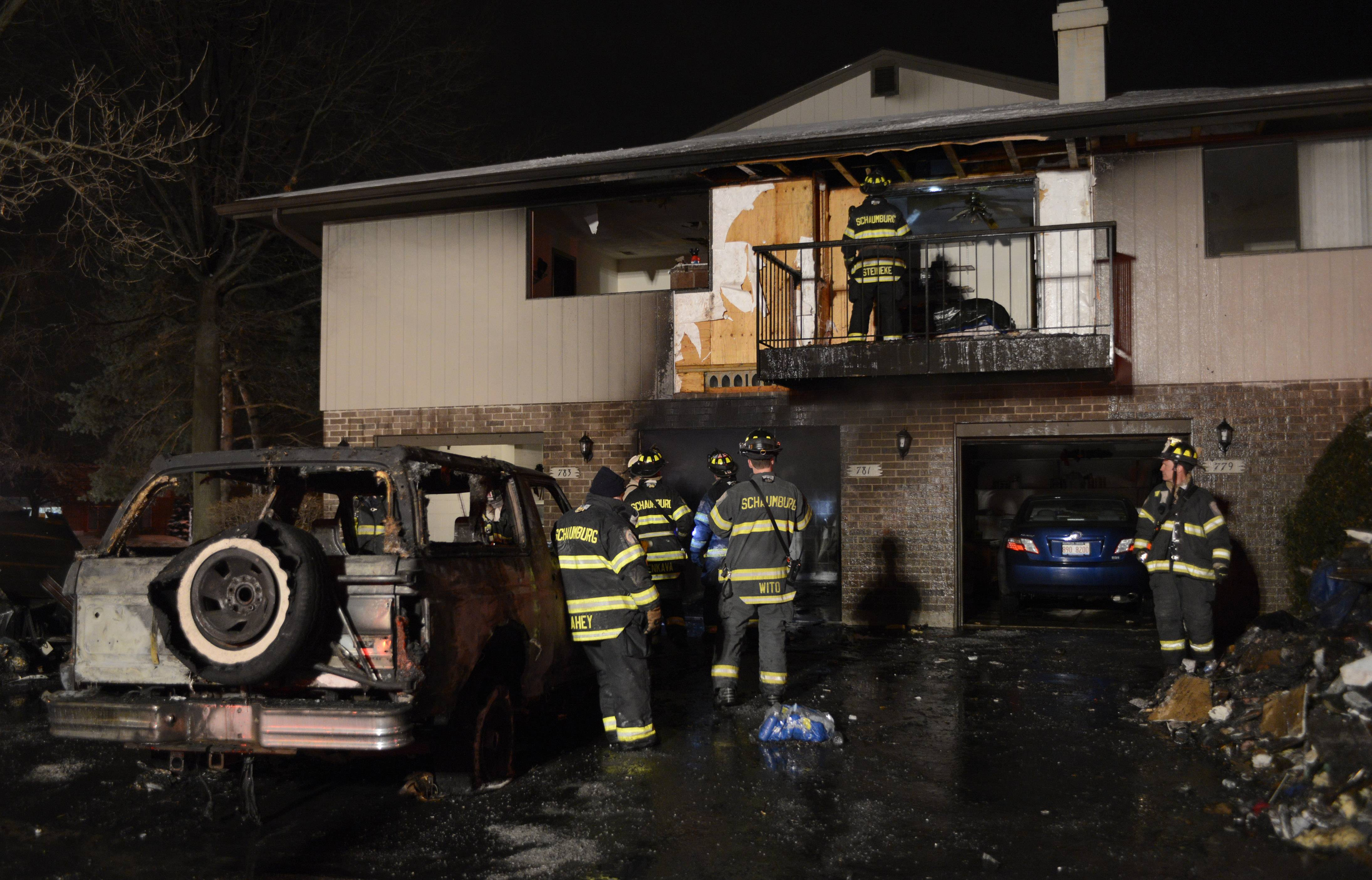The cause of Wednesday night's fire on the 700 block of Whalom Lane in Schaumburg is under investigation.