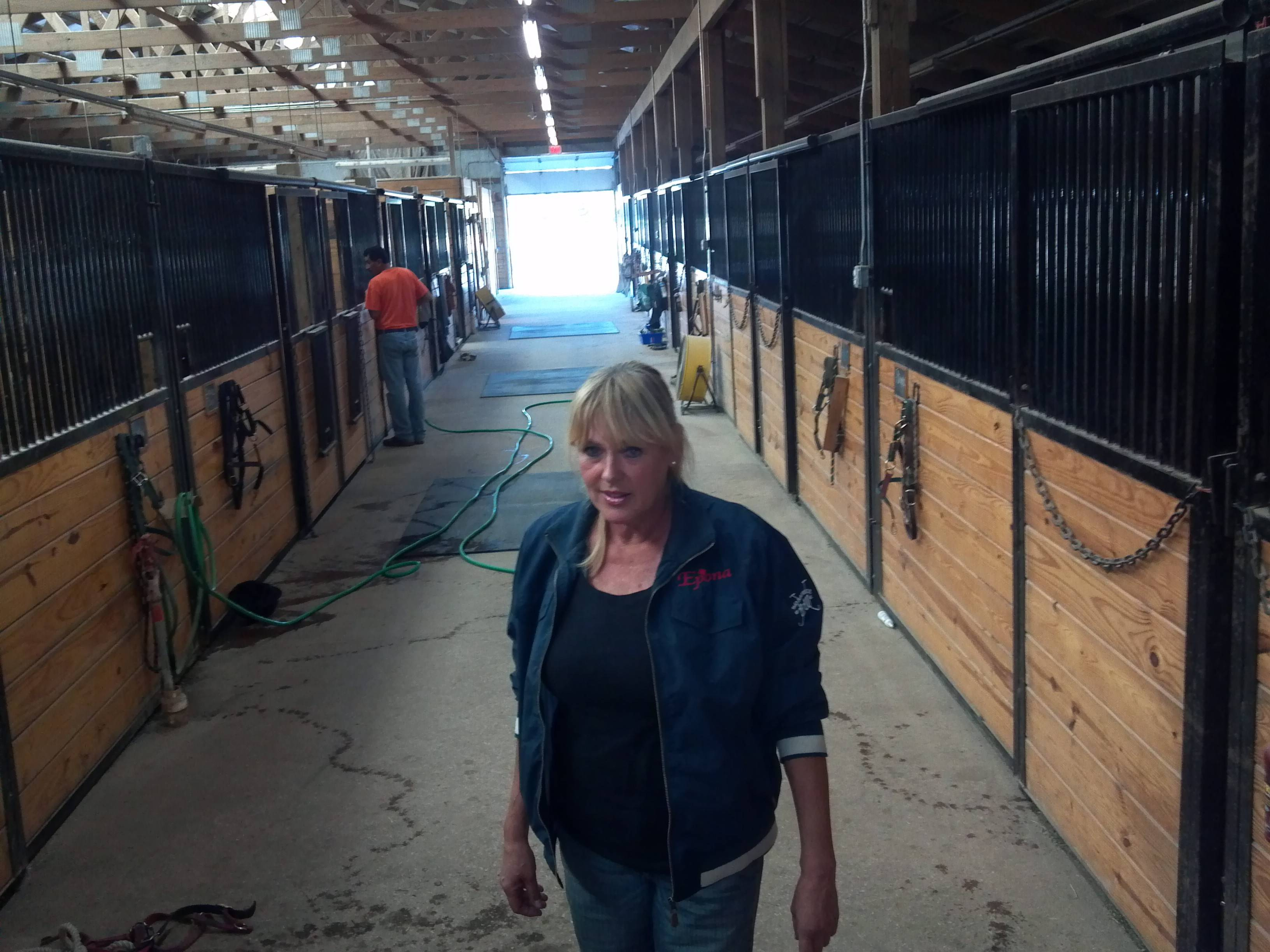Dora Christensen, owner of Epona Dressage, a Maple Park horse farm, has dropped her lawsuit against her neighbor, according to court records.