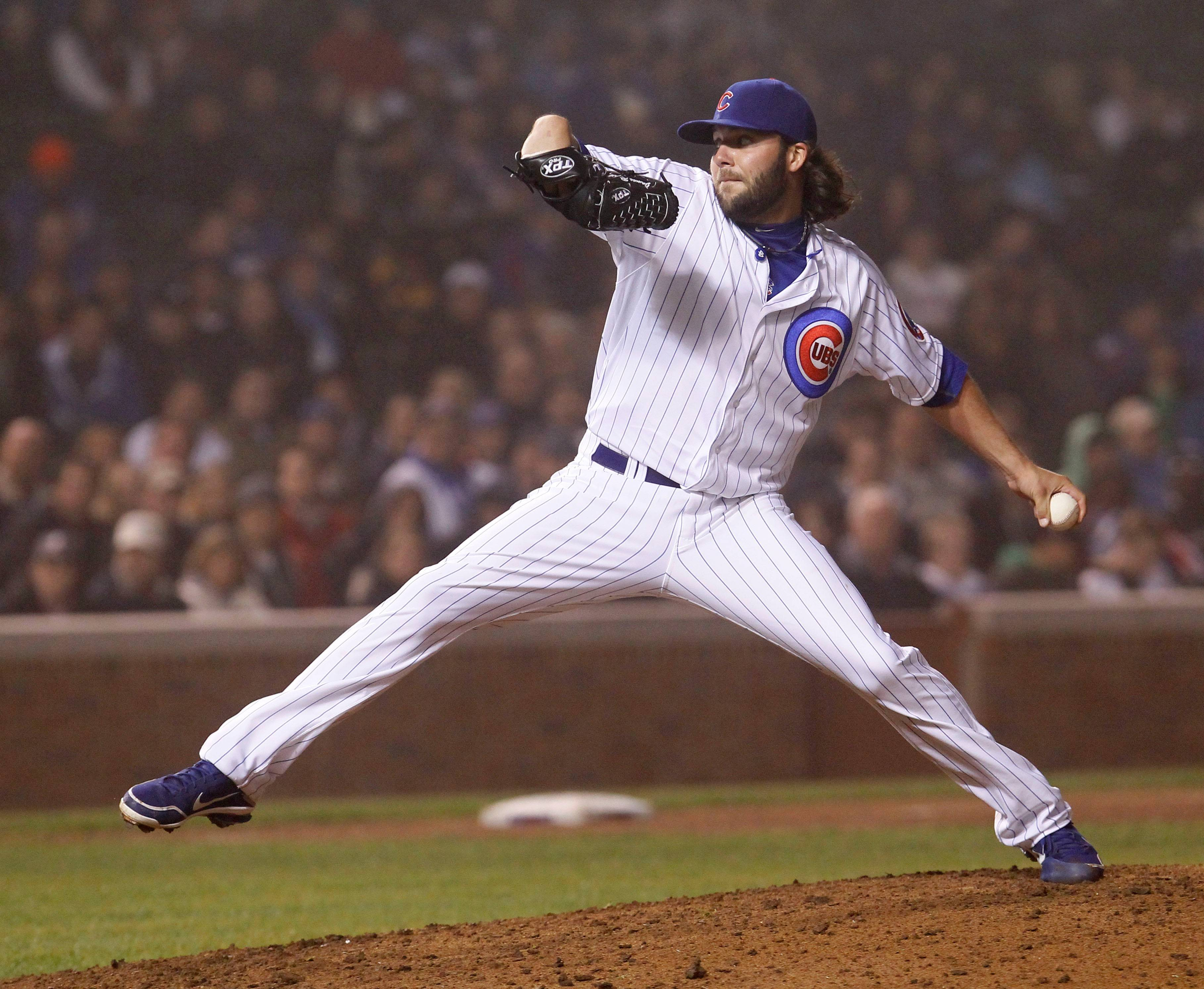 James Russell has pitched in 151 reglar-season games the past two seasons and figures to be a staple in the Cubs bullpen once again this season.