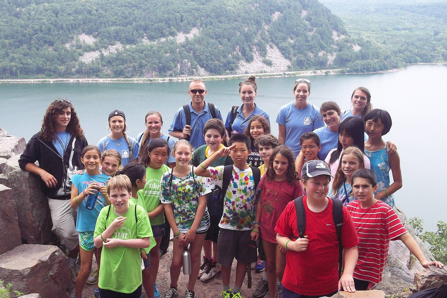 Northbrook Park District campers enjoy a field trip in the summer of 2013.